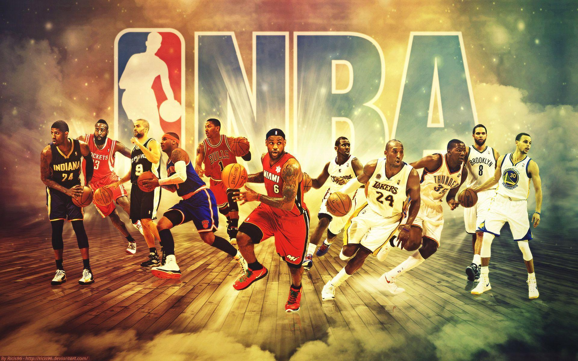 NBA basketball wallpapers of the biggest events and best players