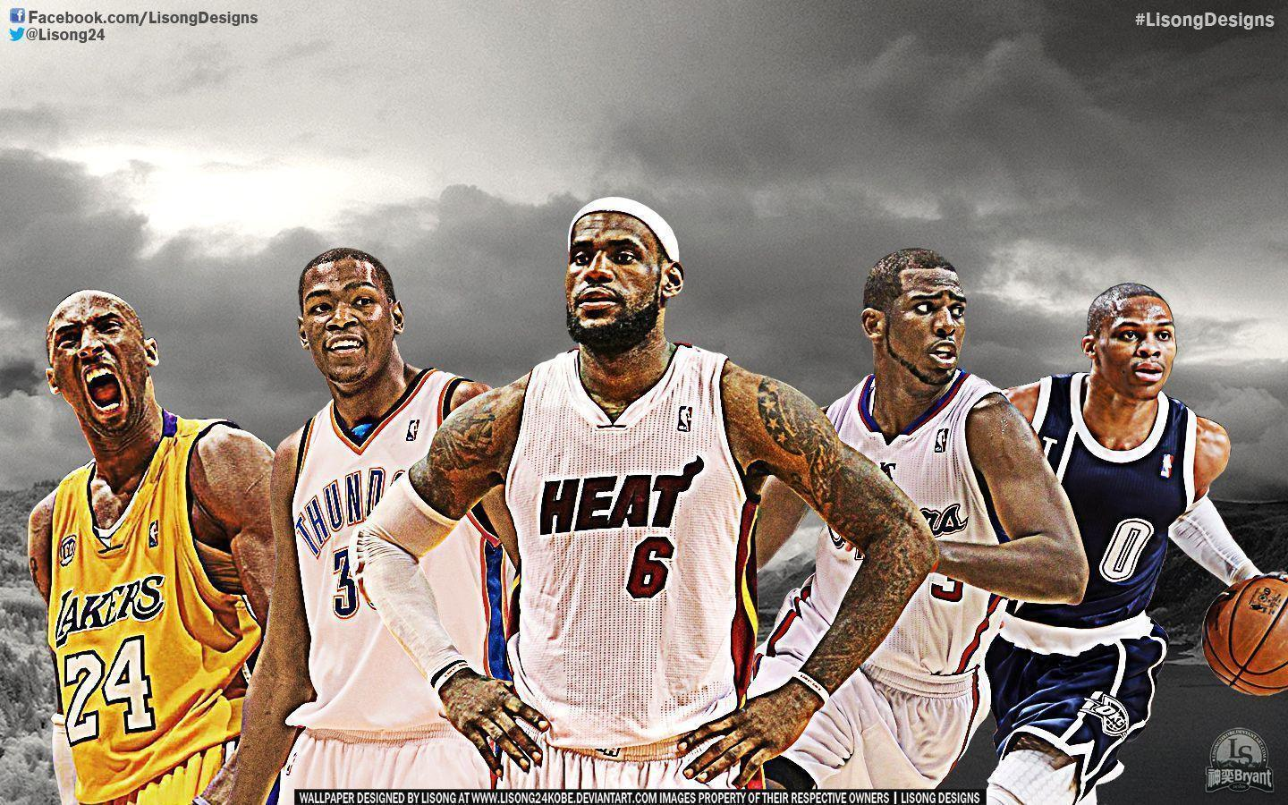 Wallpaper NBA Player Group (63+)