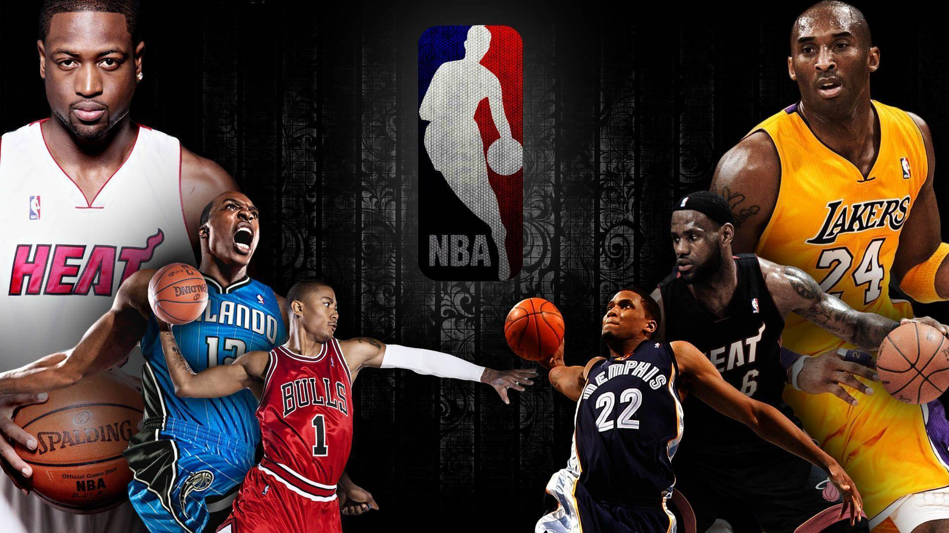 NBA Players - 1920x1080 - Full HD 16/9 - Wallpaper #5784 on ...
