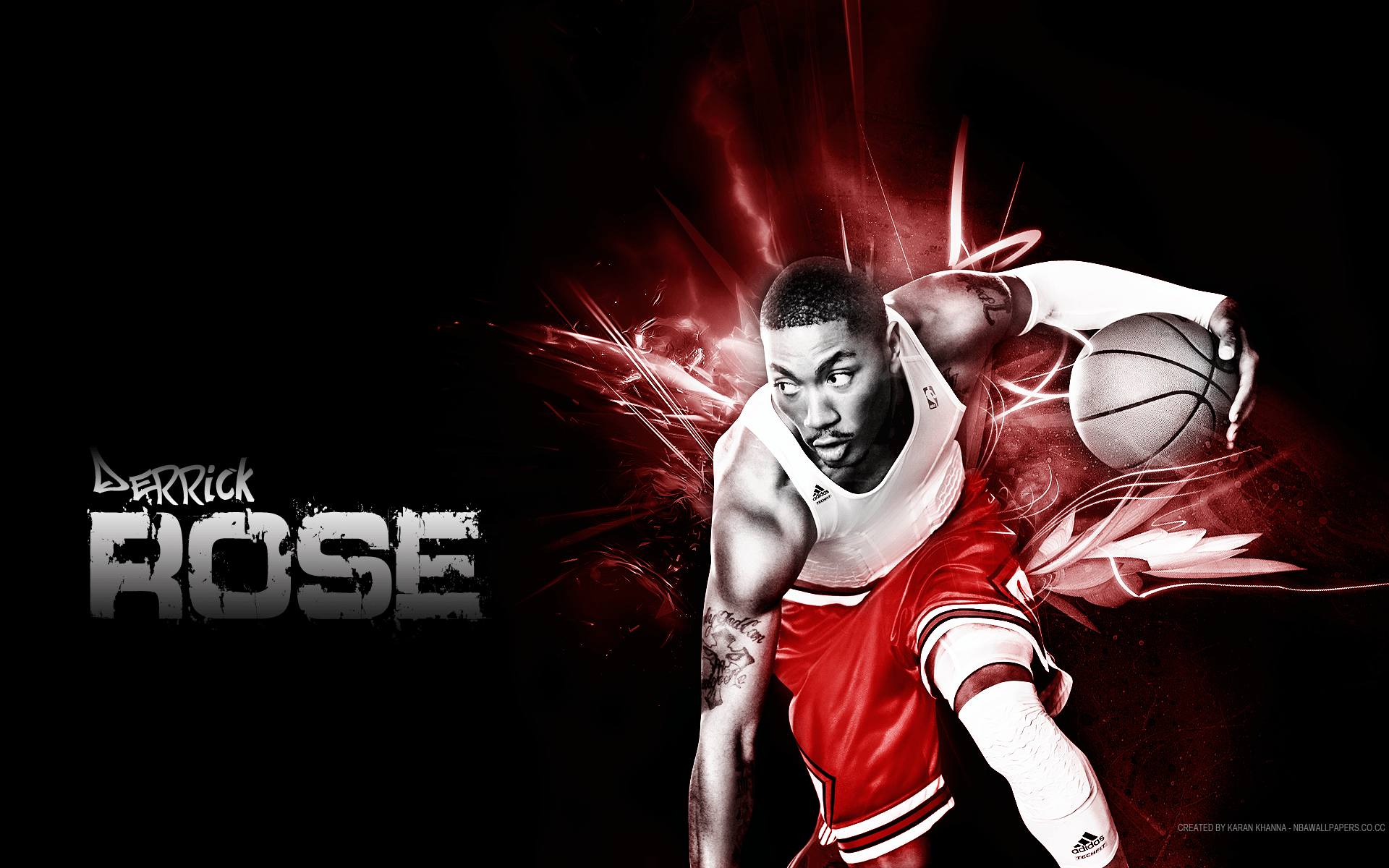 Derrick Rose | Derrick Rose Wallpaper HD For Desktop | basketball ...