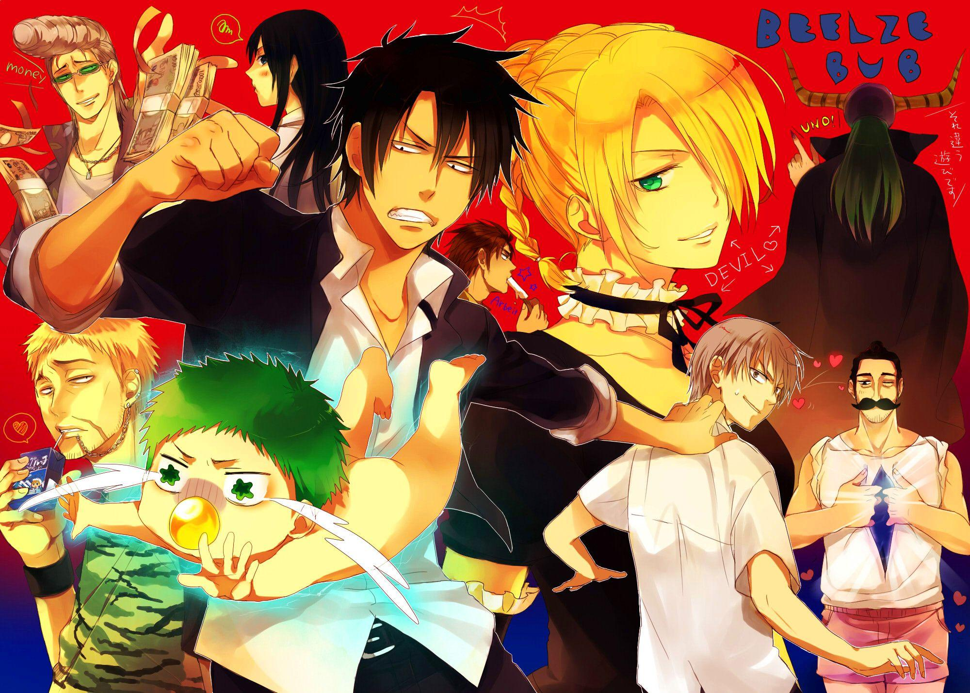 Anime Beelzebub Wallpaper | beelzebub | Pinterest | Wallpapers and ...