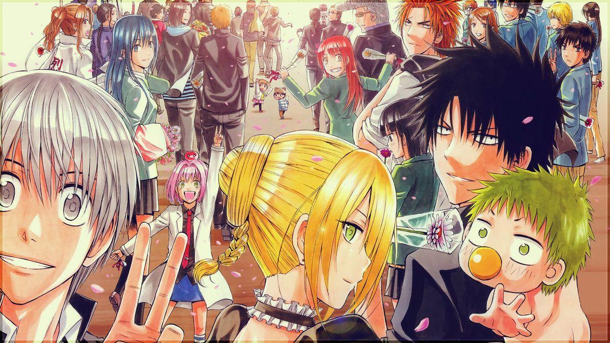 Collection of Beelzebub Anime Wallpaper on HDWallpapers