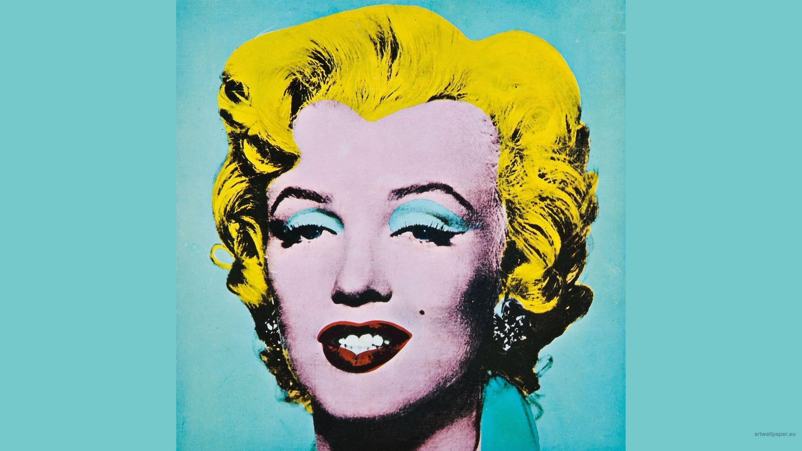 Marilyn Monroe Andy Warhol Wallpaper HD by HD Wallpapers Daily