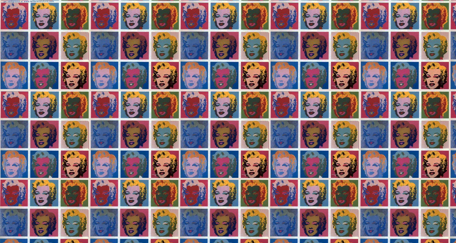 Andy Warhol Marilyn Monroe Wallpaper by HD Wallpapers Daily