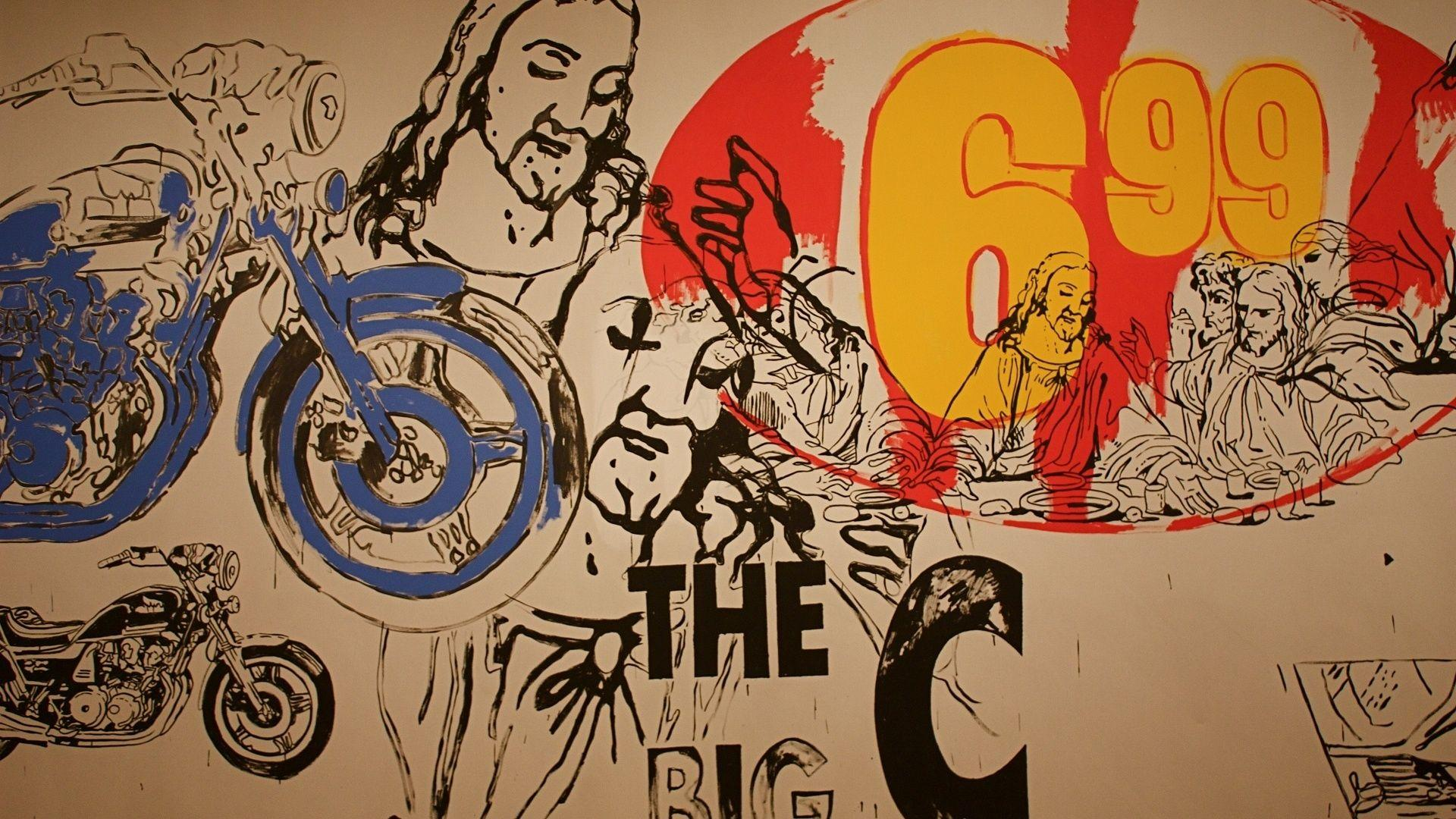 1920x1080 Andy Warhol, Jesus, Bike, Andy Warhol Art Wallpapers and ...