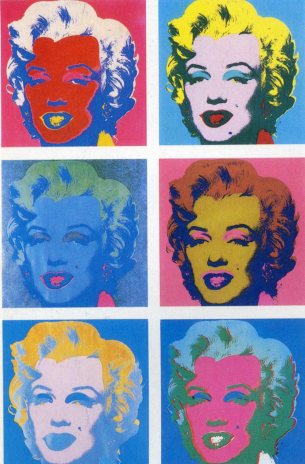 Marilyn Monroe 6 - Andy Warhol Wallpaper Image