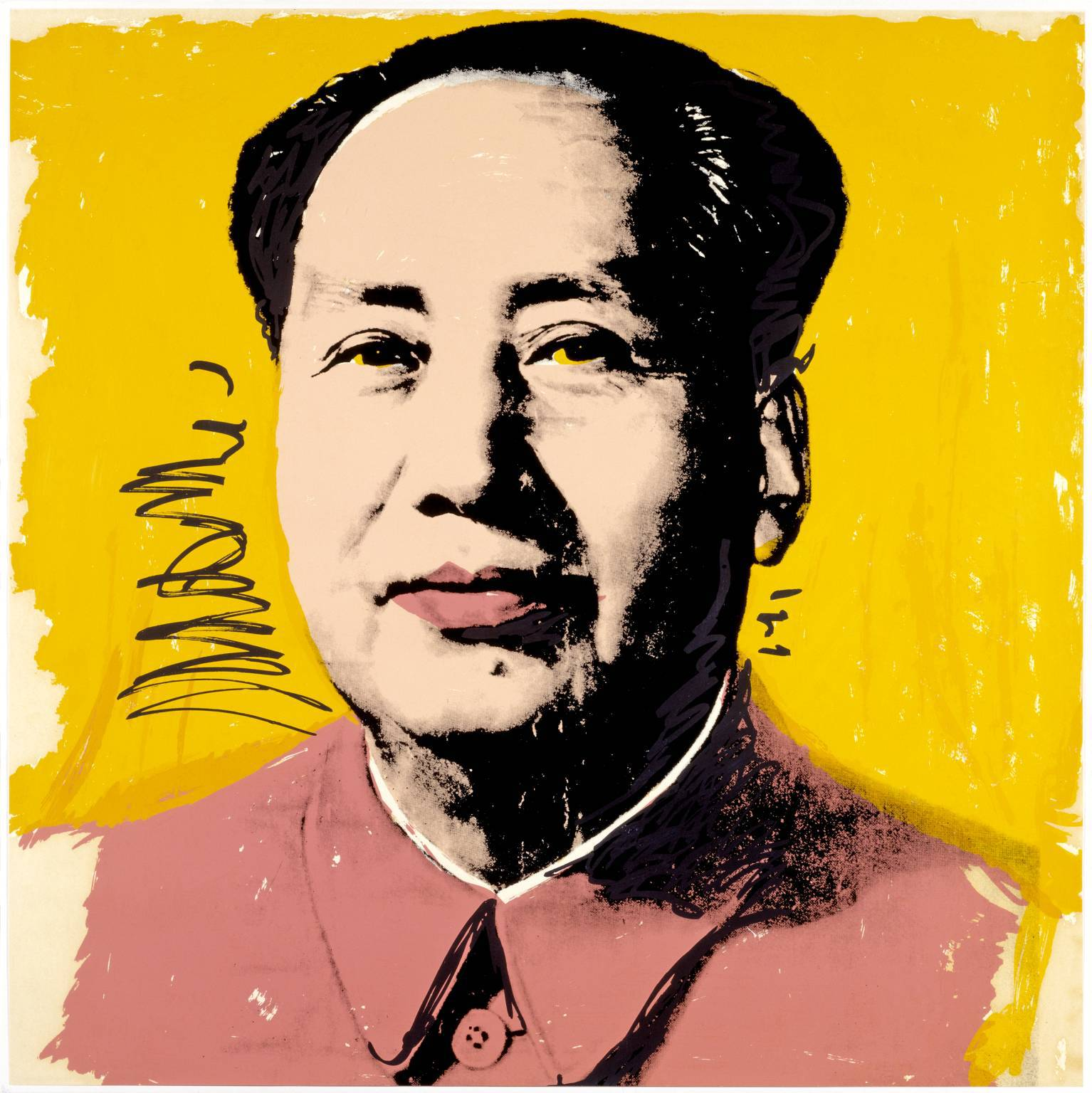 Famous painting Andy Warhol Chinese man wallpapers and images ...