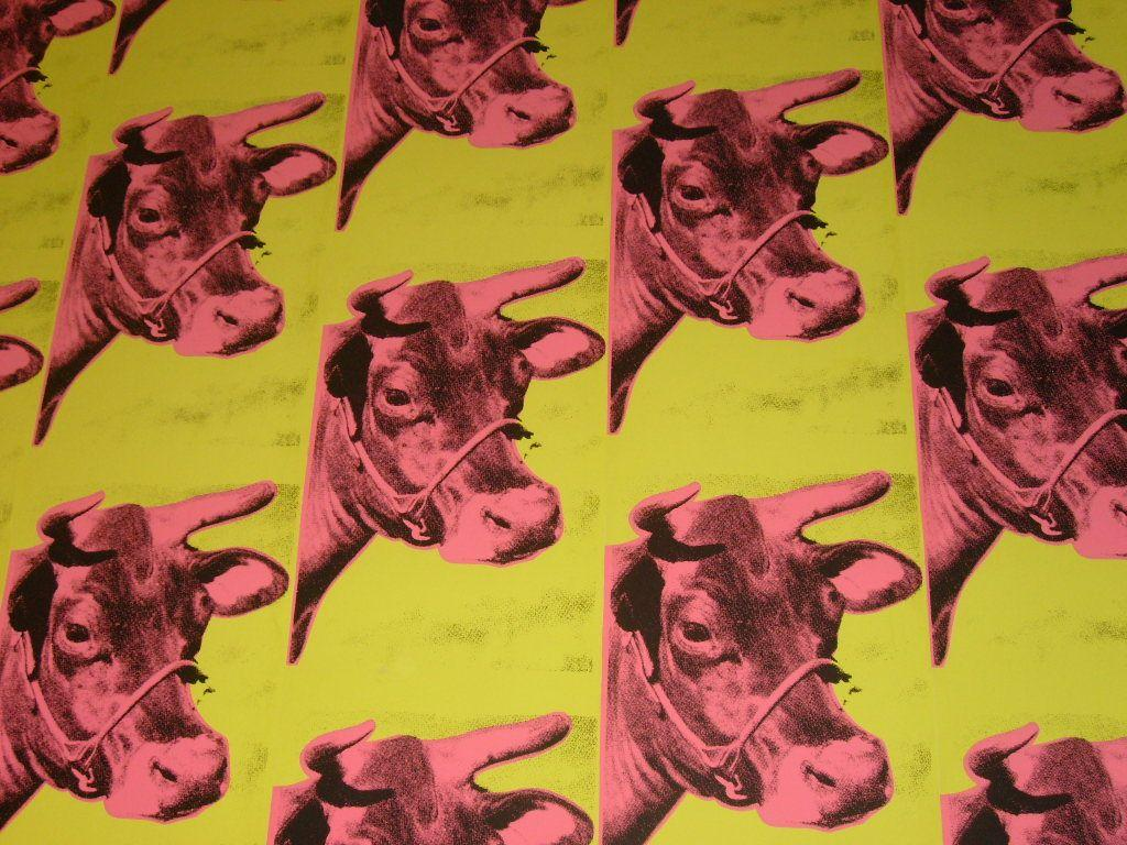 Andy Warhol Cow Wallpaper - WallpaperSafari
