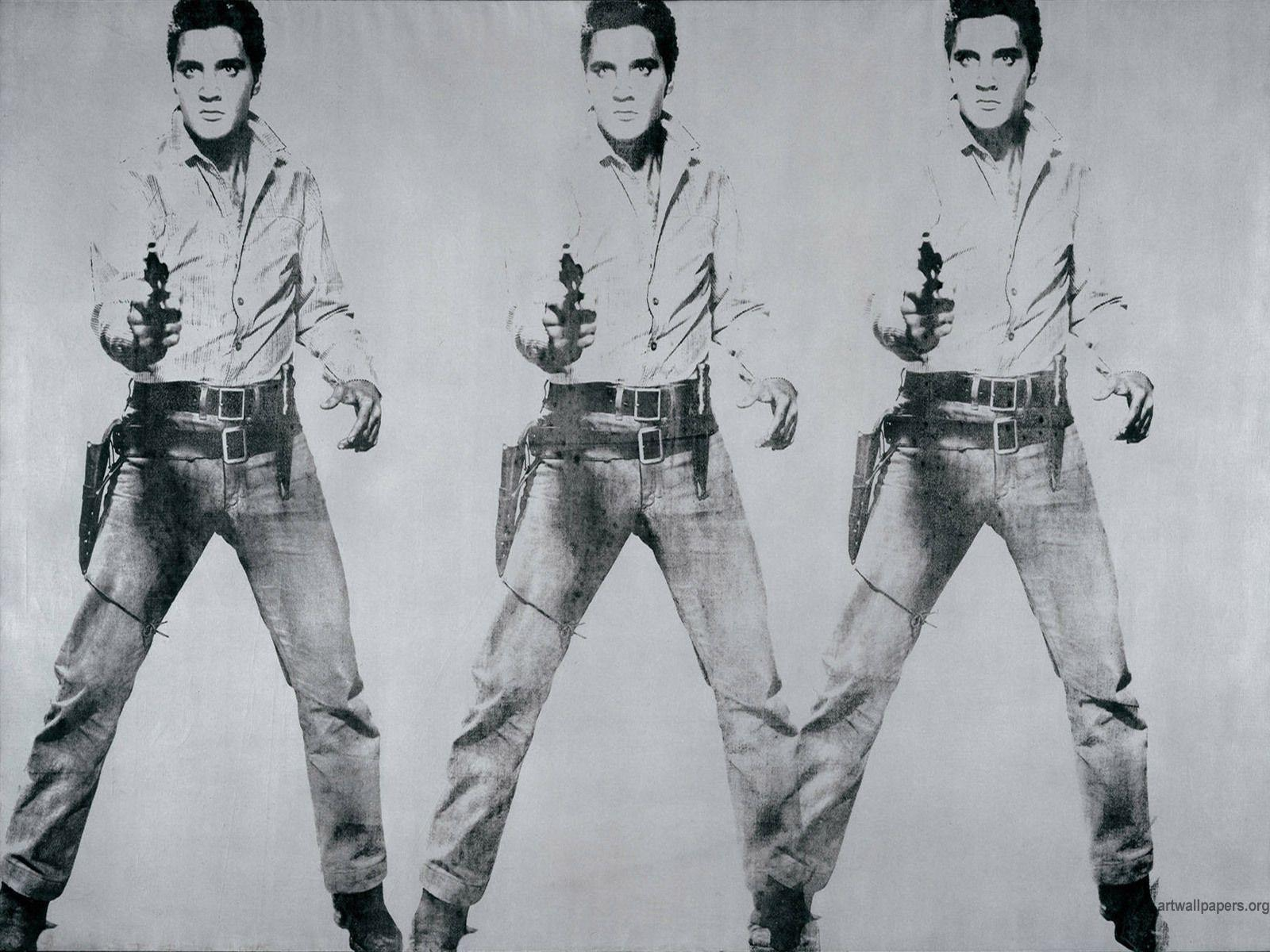 Painting Andy Warhol Cowboy wallpapers and images - wallpapers ...