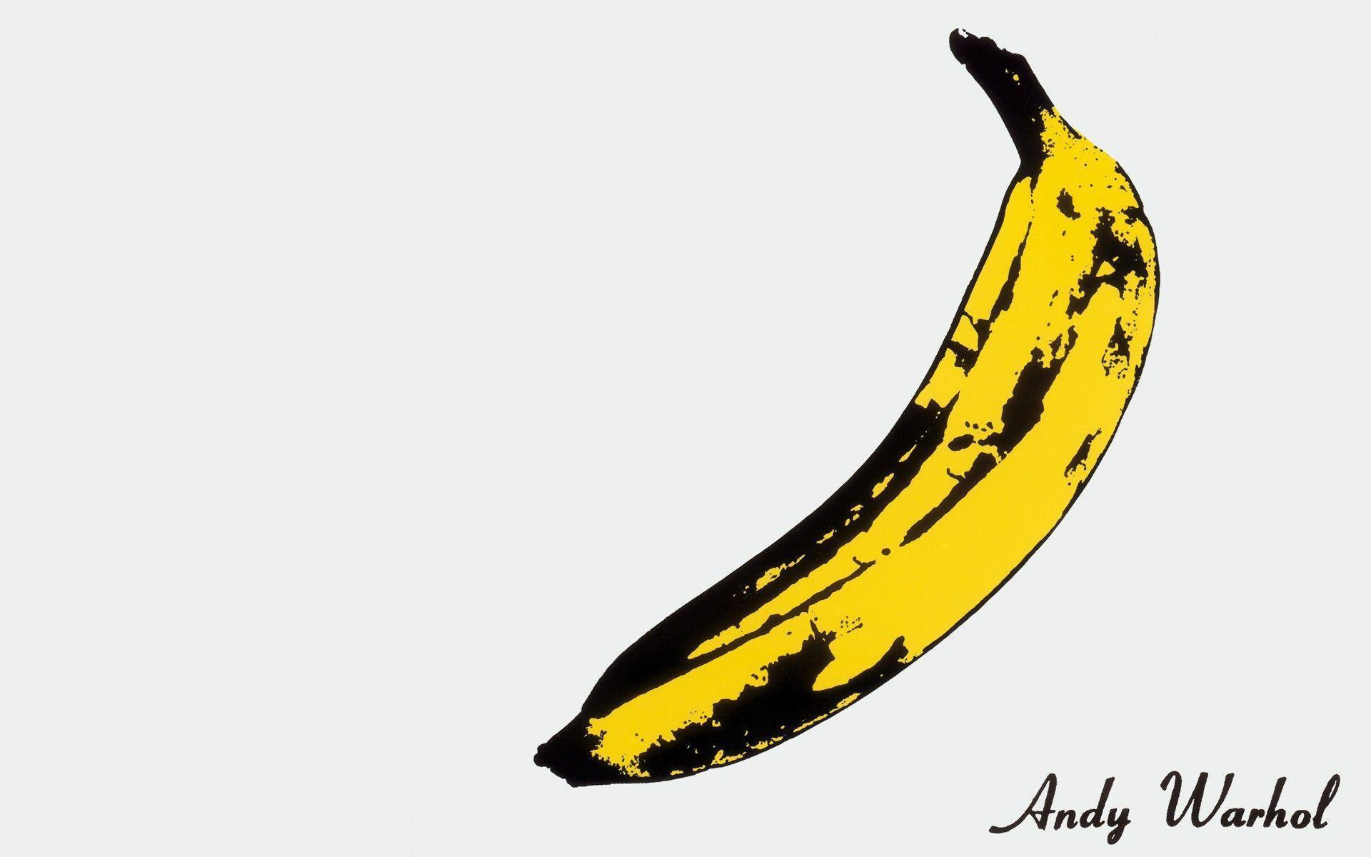 bananas, Artwork, Andy Warhol, Minimalism Wallpapers HD / Desktop ...