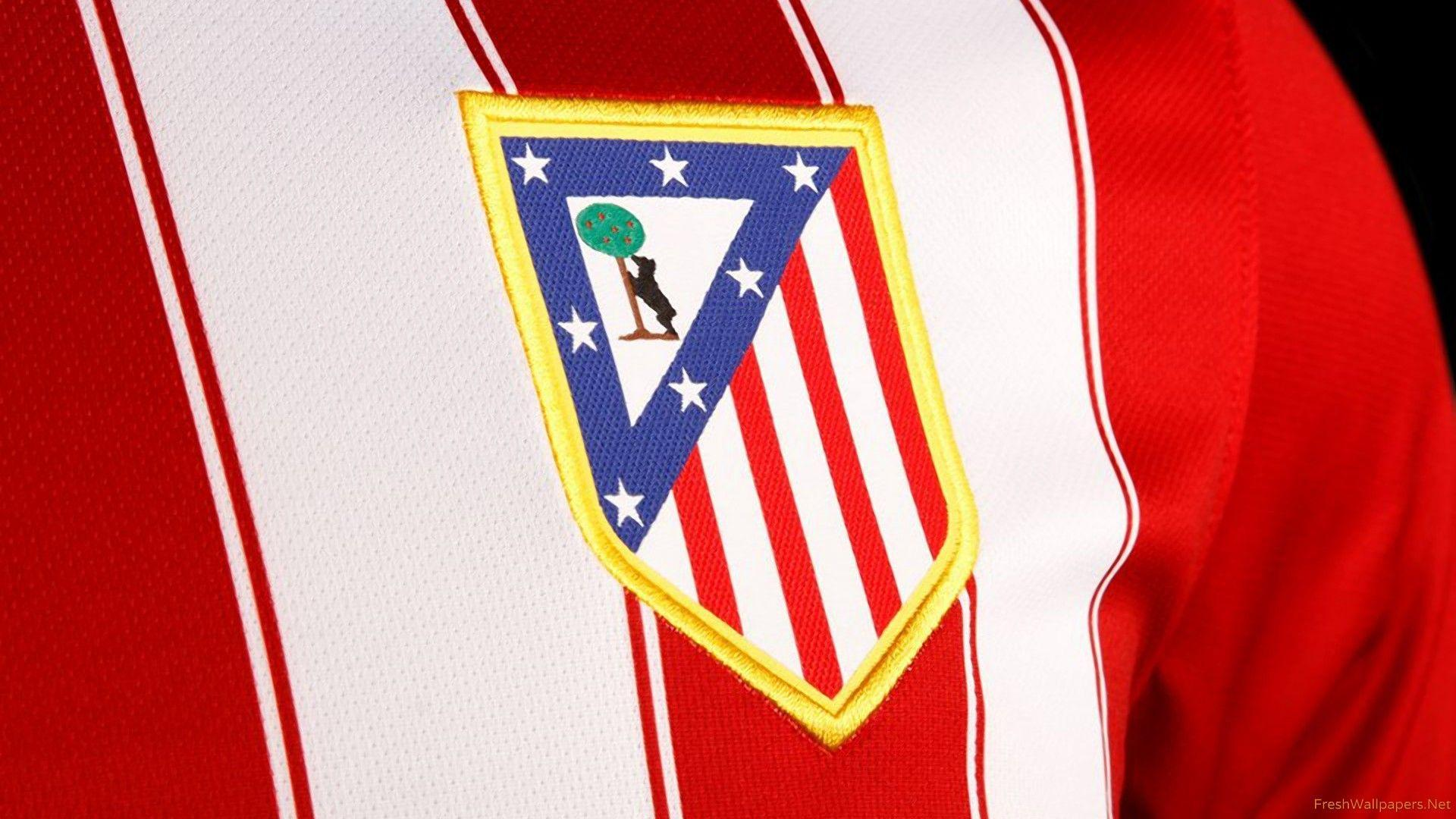 Atletico Madrid 2015-16 Nike Home Jersey Badge wallpapers ...