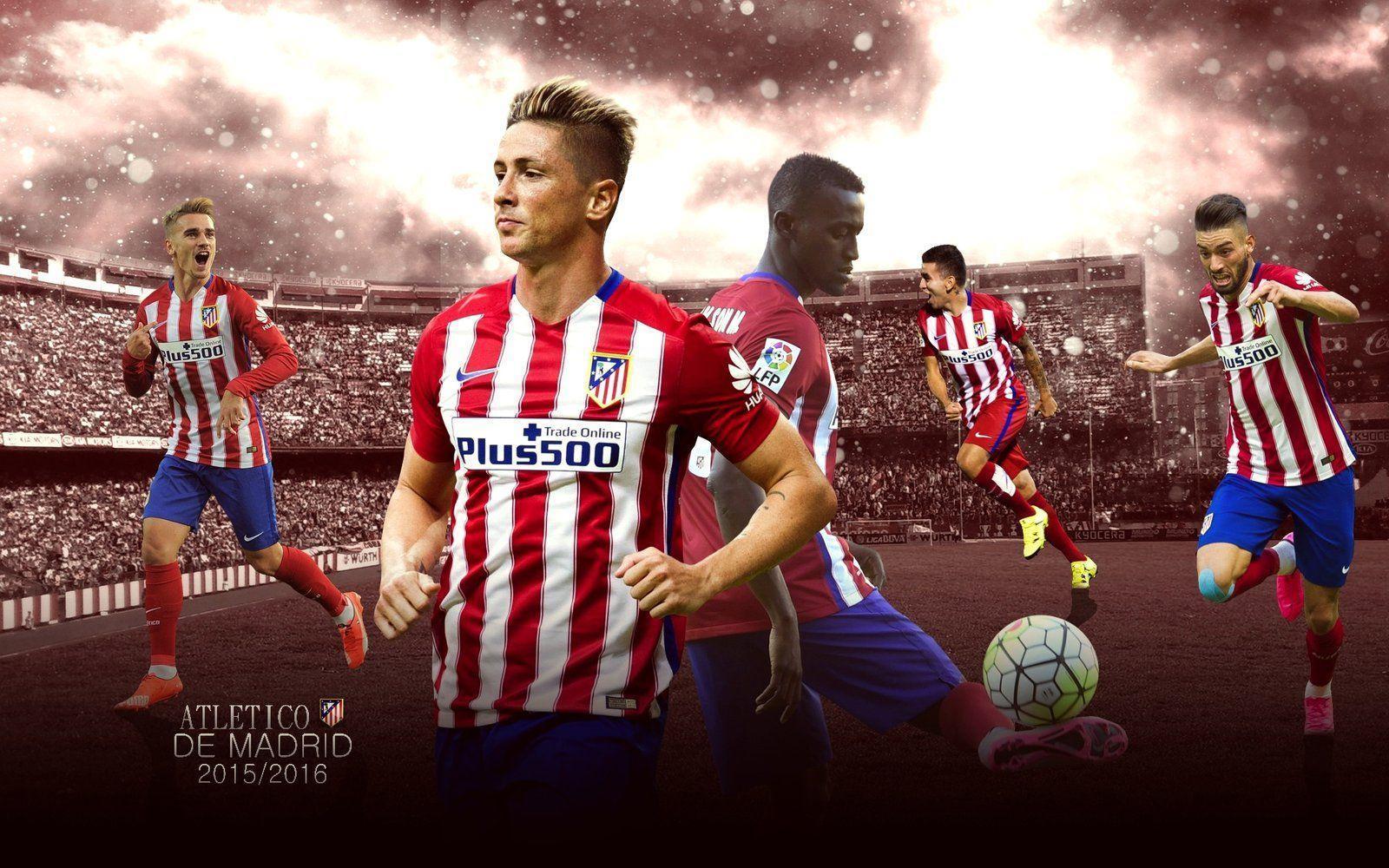 Atletico Madrid Wallpaper 2015-16 by ChrisRamos4 on DeviantArt