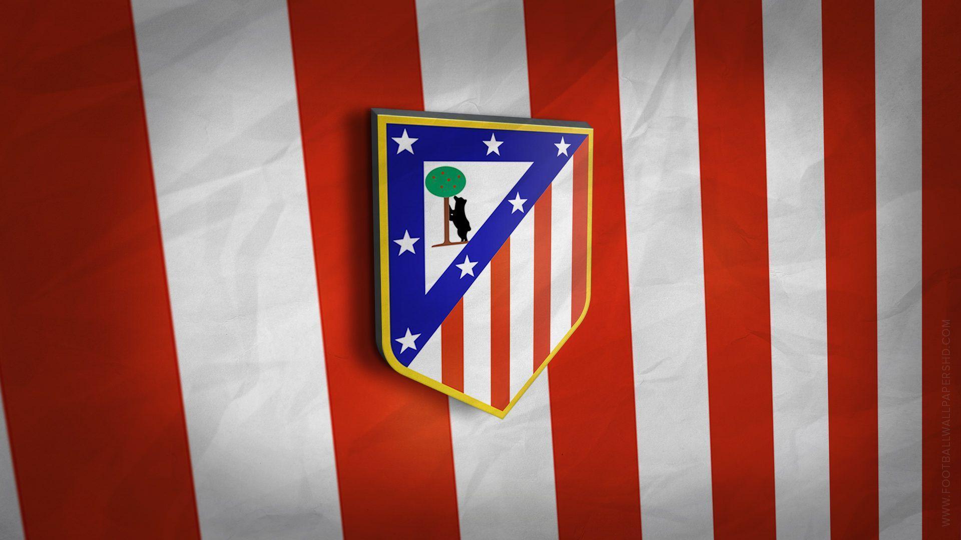 Atletico Madrid 3D Logo Wallpaper | Football Wallpapers HD ...