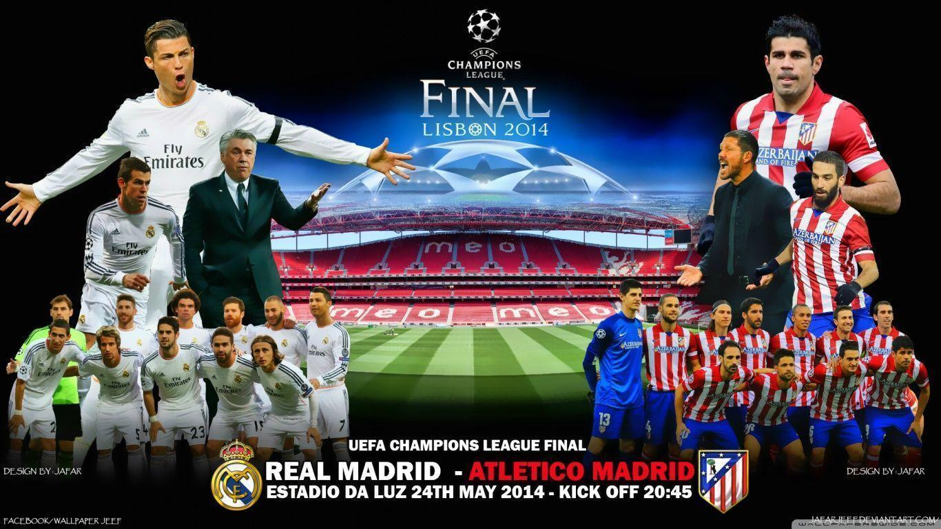 REAL MADRID - ATLETICO MADRID HD desktop wallpaper : High Definition