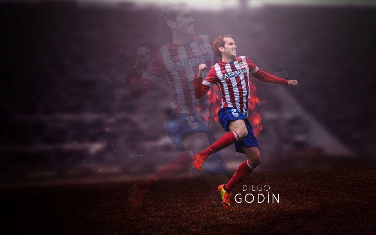Diego Godin Atletico Madrid Wallpaper - Football Wallpapers HD