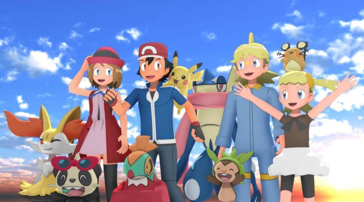 MMD Pokemon XYZ Gang by MMDSatoshi on DeviantArt
