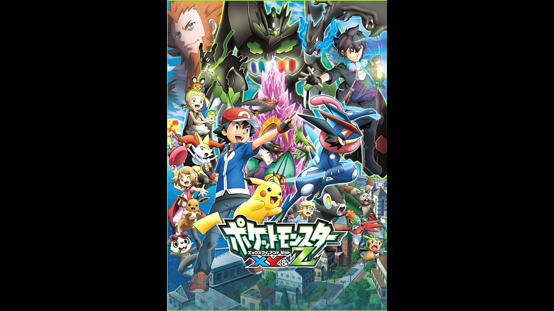 Pokemon XY & Z Theme Song Japanese - YouTube