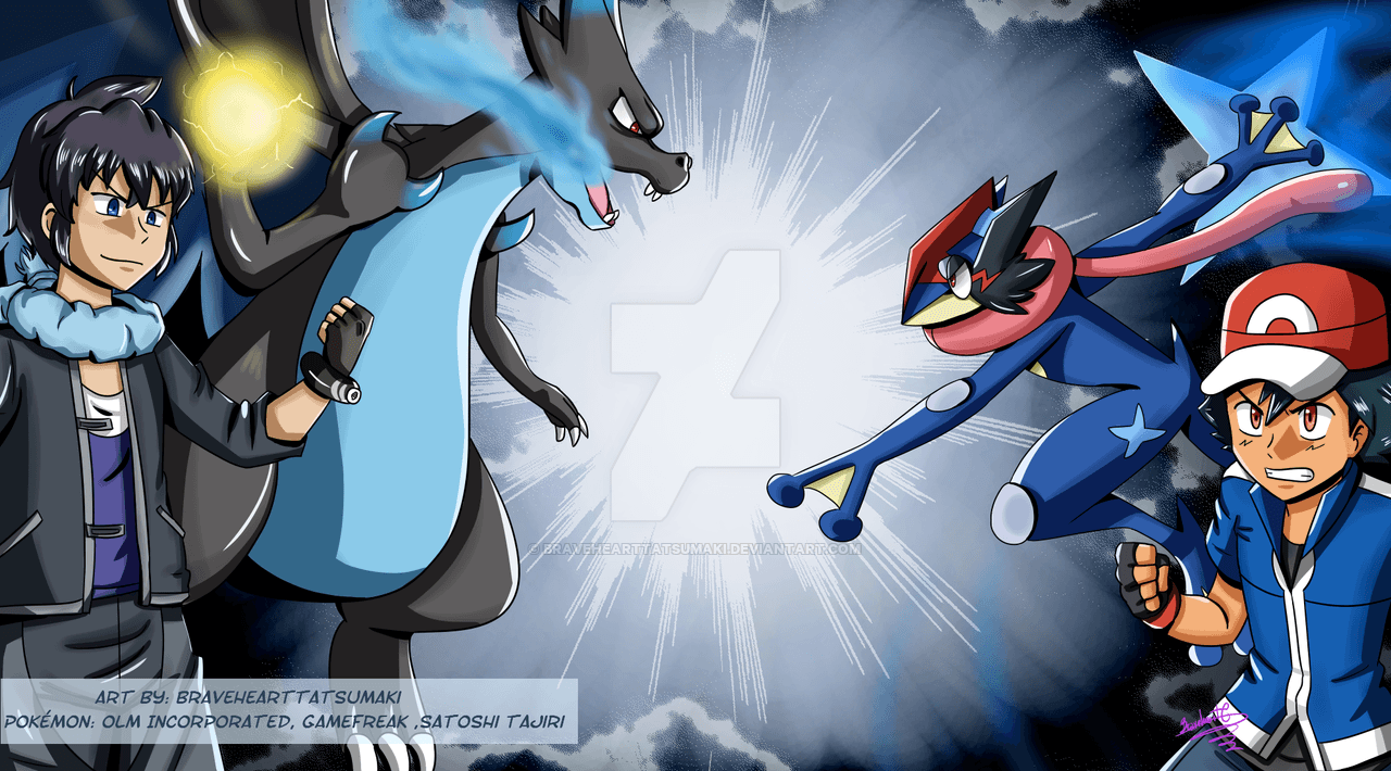 Ash vs Alan - Pokemon XYZ by BraveHeartTatsumaki on DeviantArt