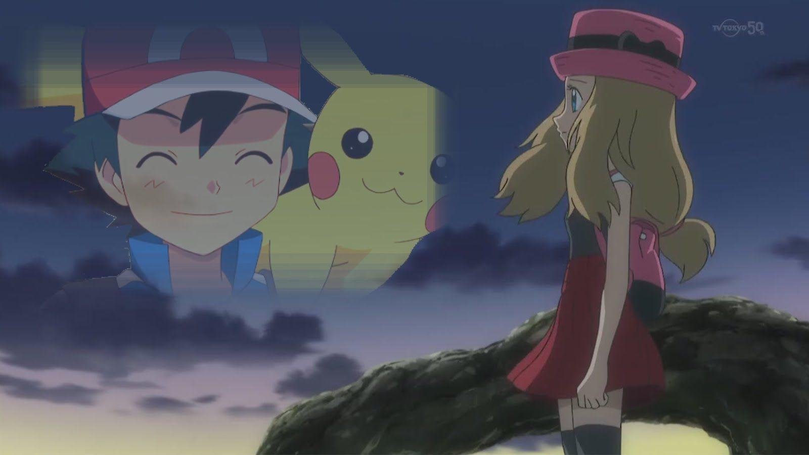 Pokemon XY AMV - Ash and Serena Memories / Direct - Memory - YouTube