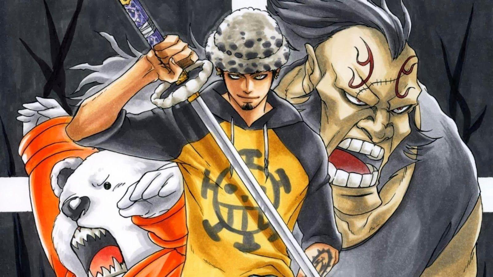 One Piece Trafalgar Law Wallpaper - Art Design Ideaz