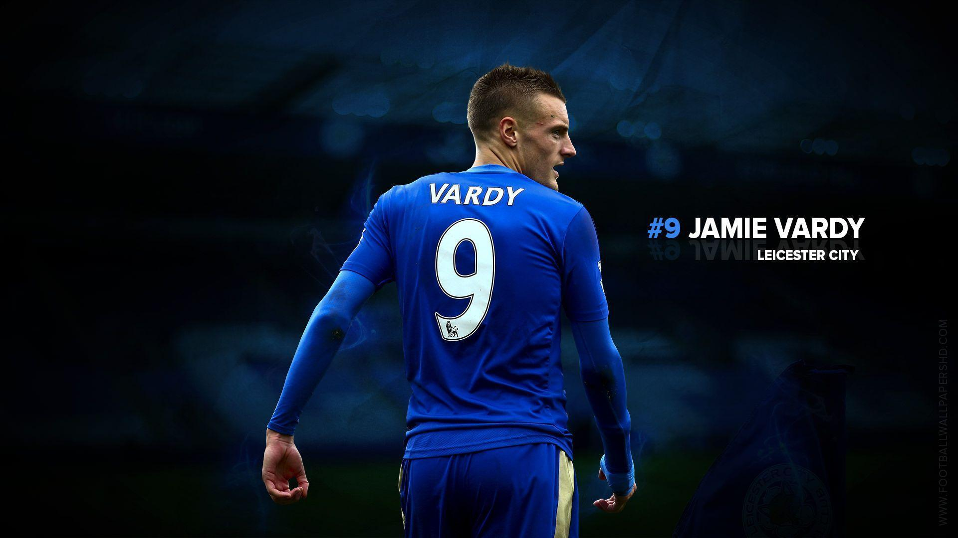 Jamie Vardy Leicester City Wallpaper | Football Wallpapers HD ...