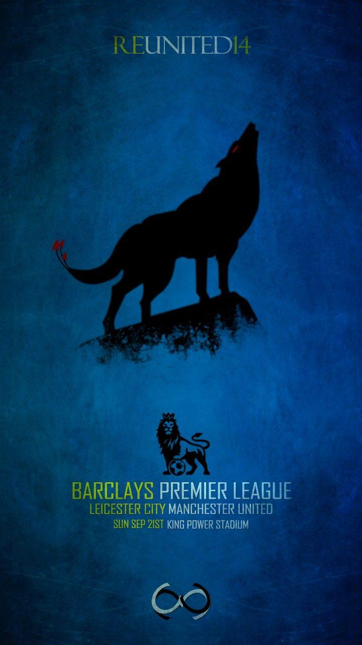 Matchday Poster. Leicester City Football Club vs Manchester United ...