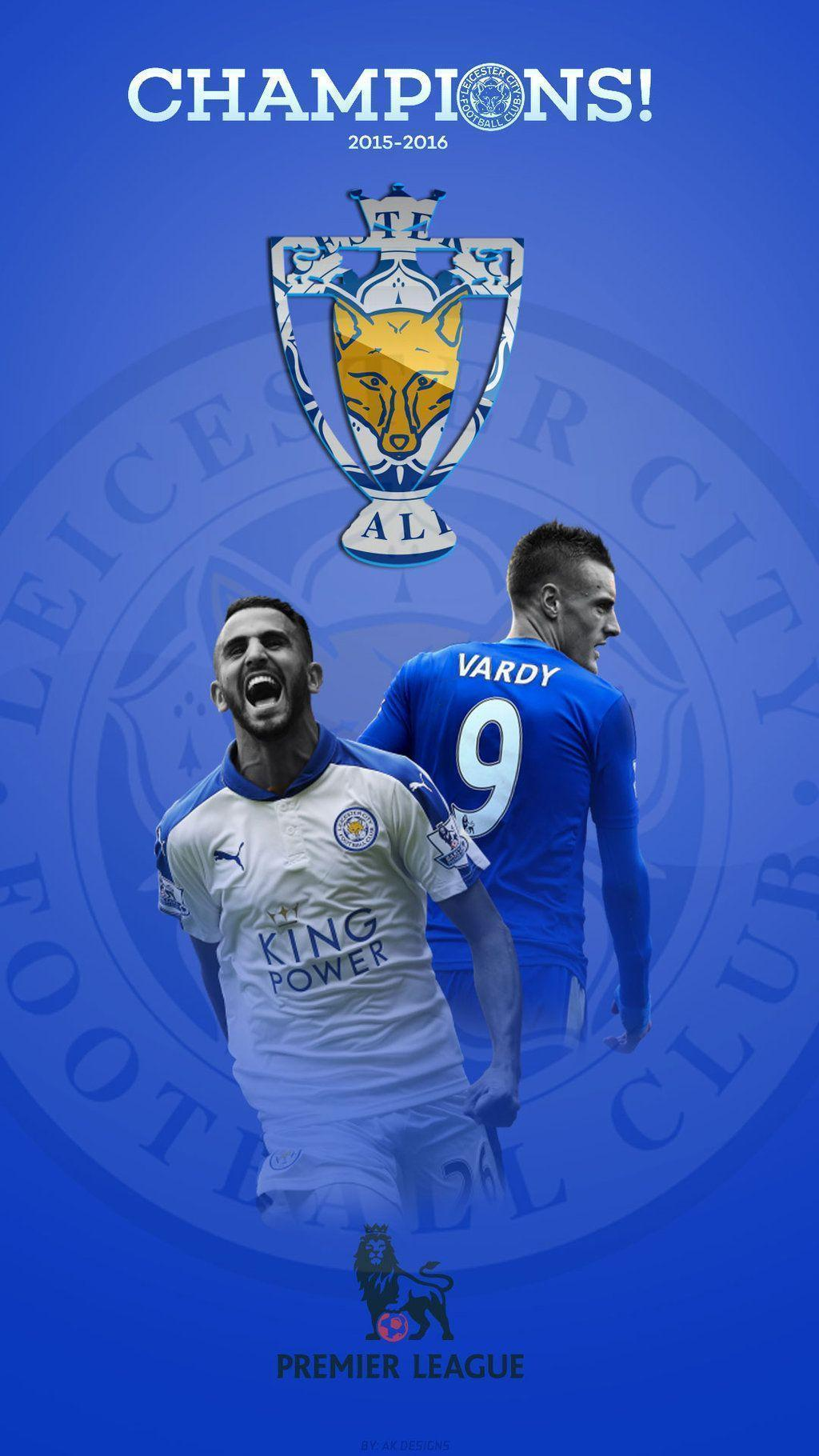 DeviantArt: More Like Wallpaper Iphone Leicester City Champion ...