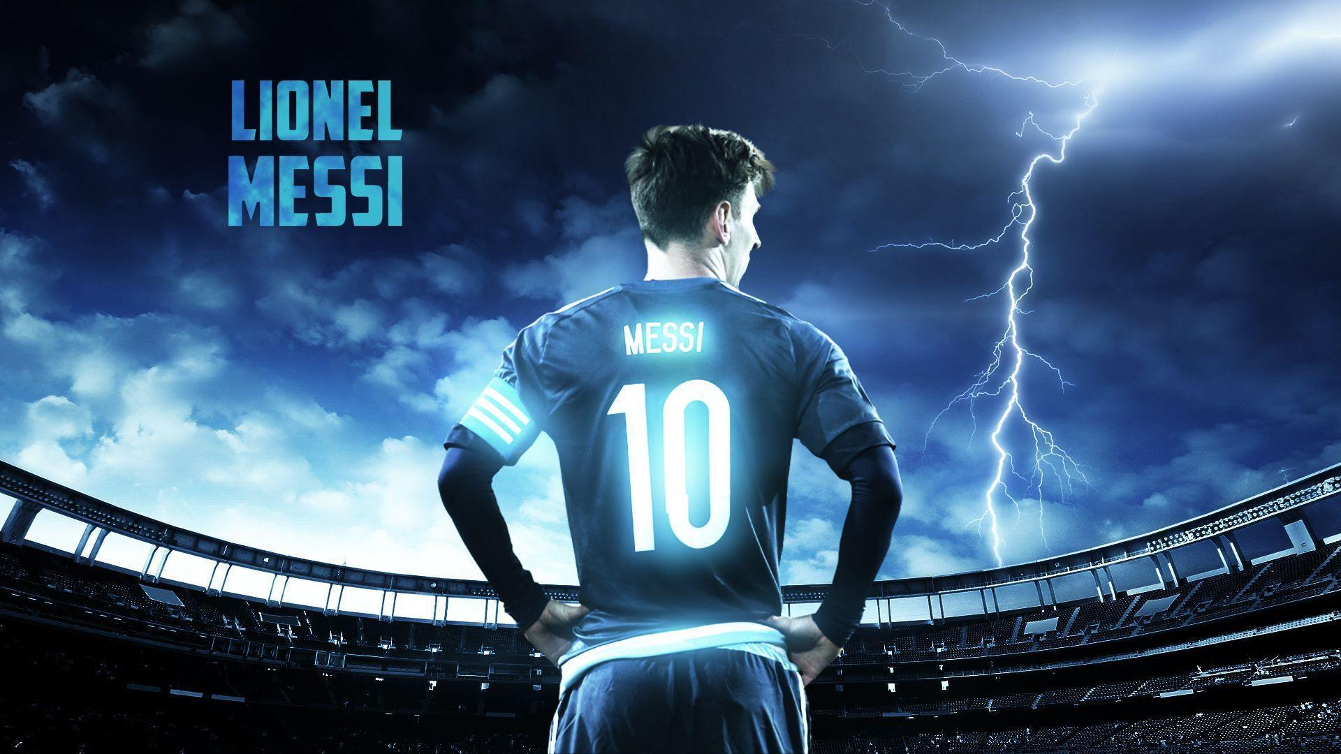 Messi Logo Wallpapers Wallpaper Cave