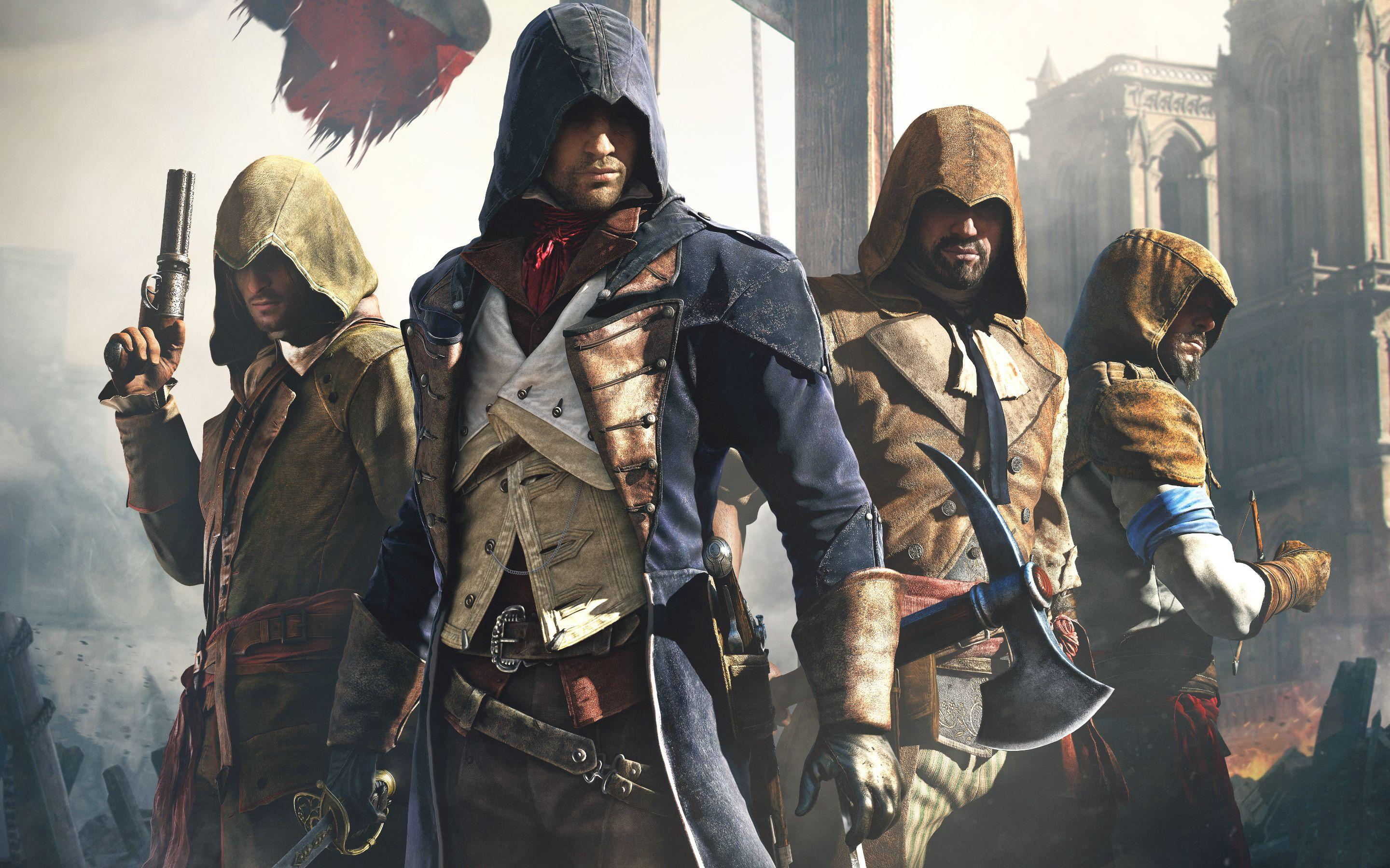 Assassins Creed Unity Wallpapers - Wallpaper Cave