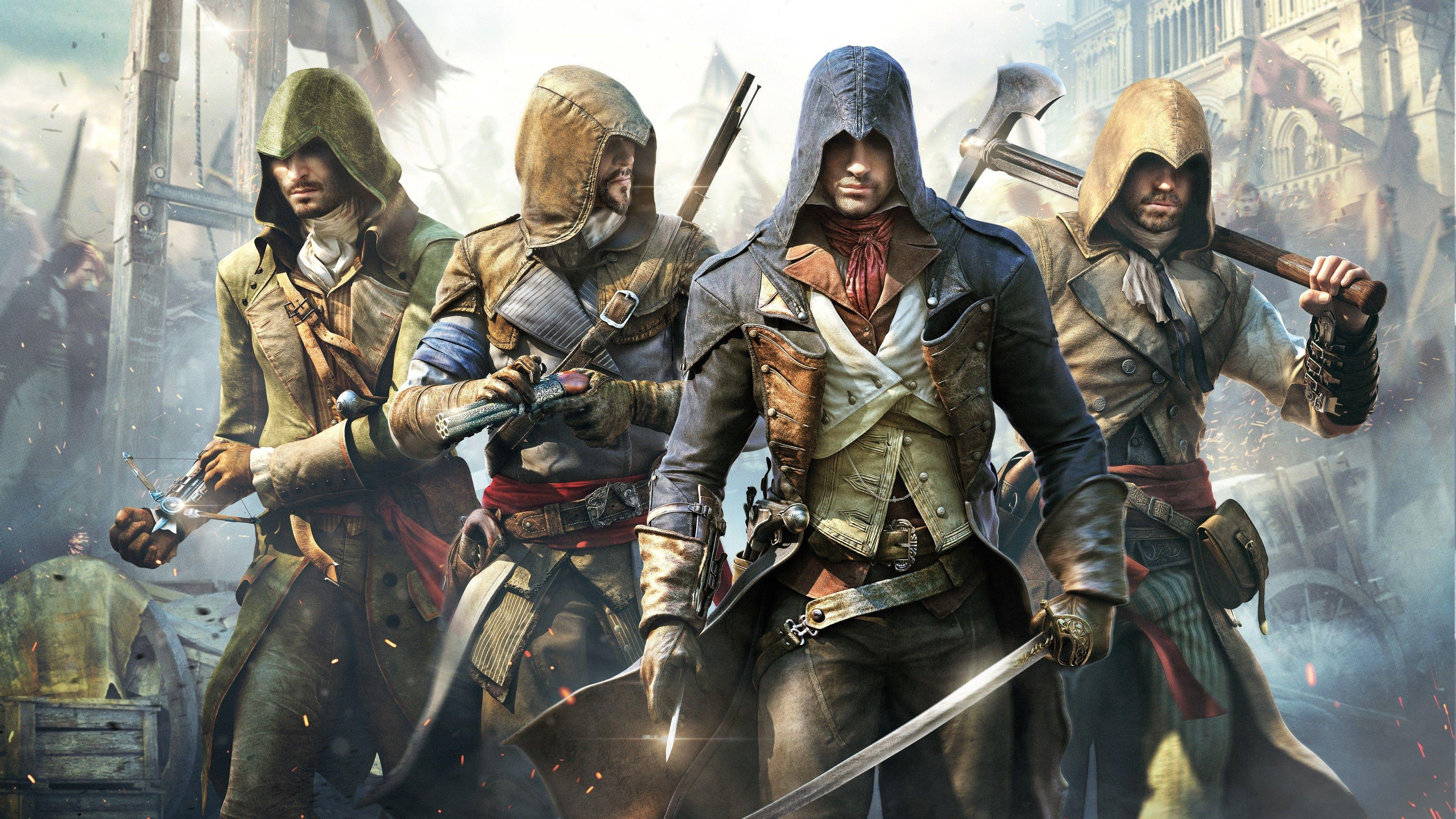 assassins creed unity wallpapers wallpaper cave