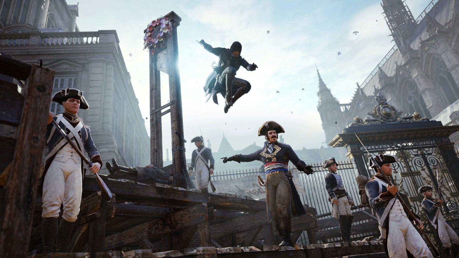 Assassin S Creed Unity Wallpapers Wallpaper Cave
