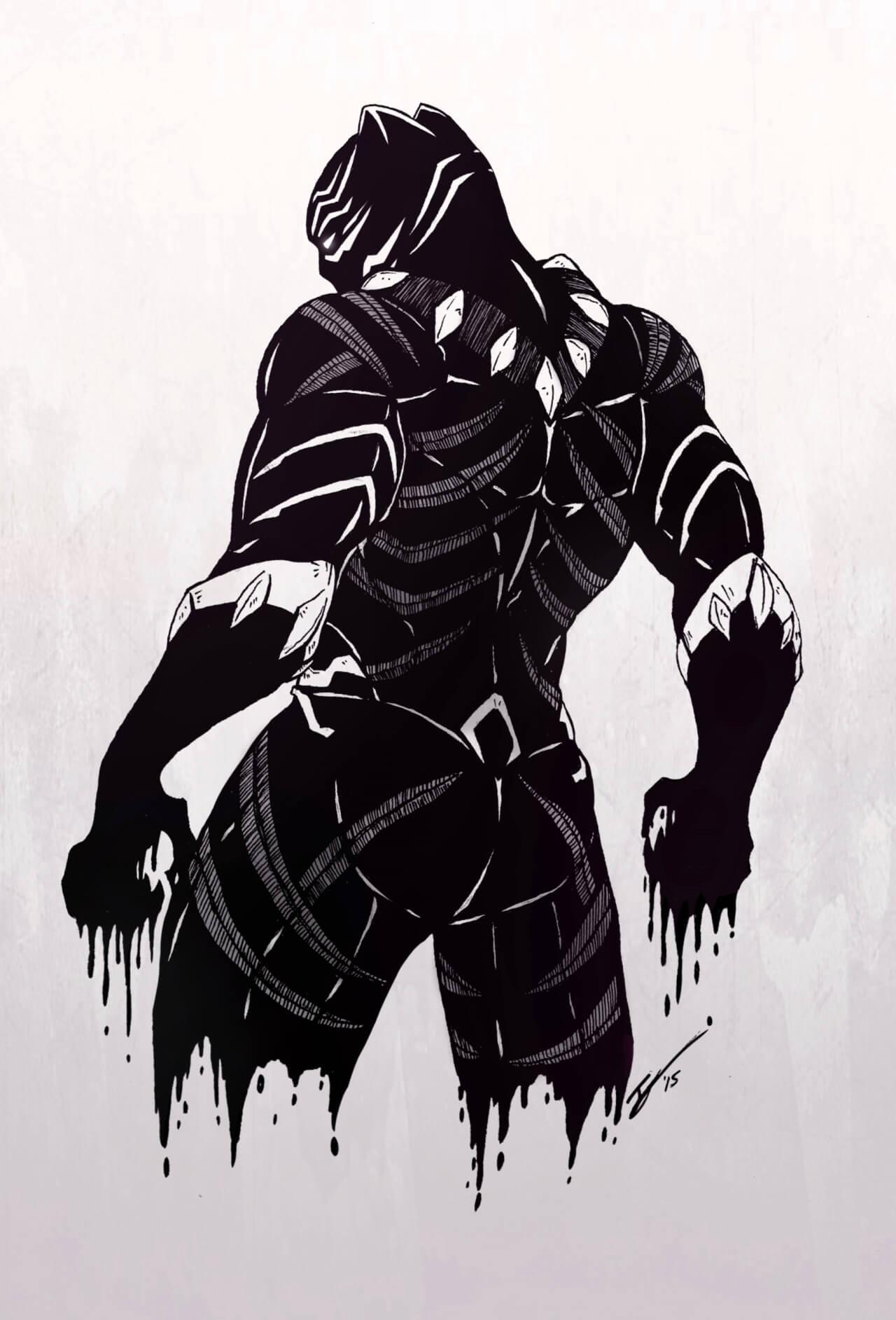 Black Panther Wallpaper by buh1 on DeviantArt