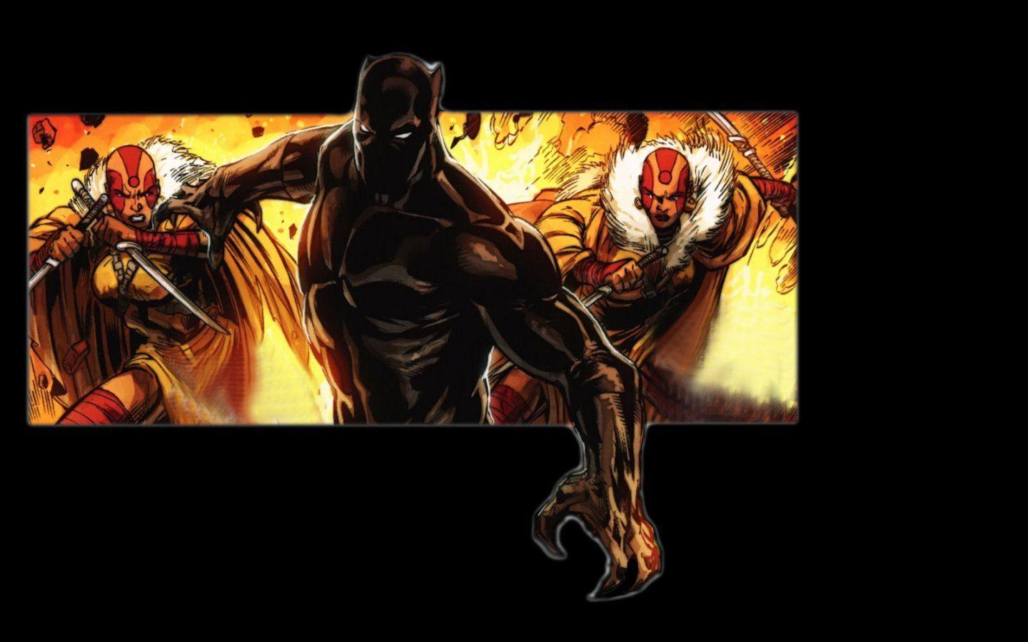 Black Panther comics Marvel Comics wallpapers