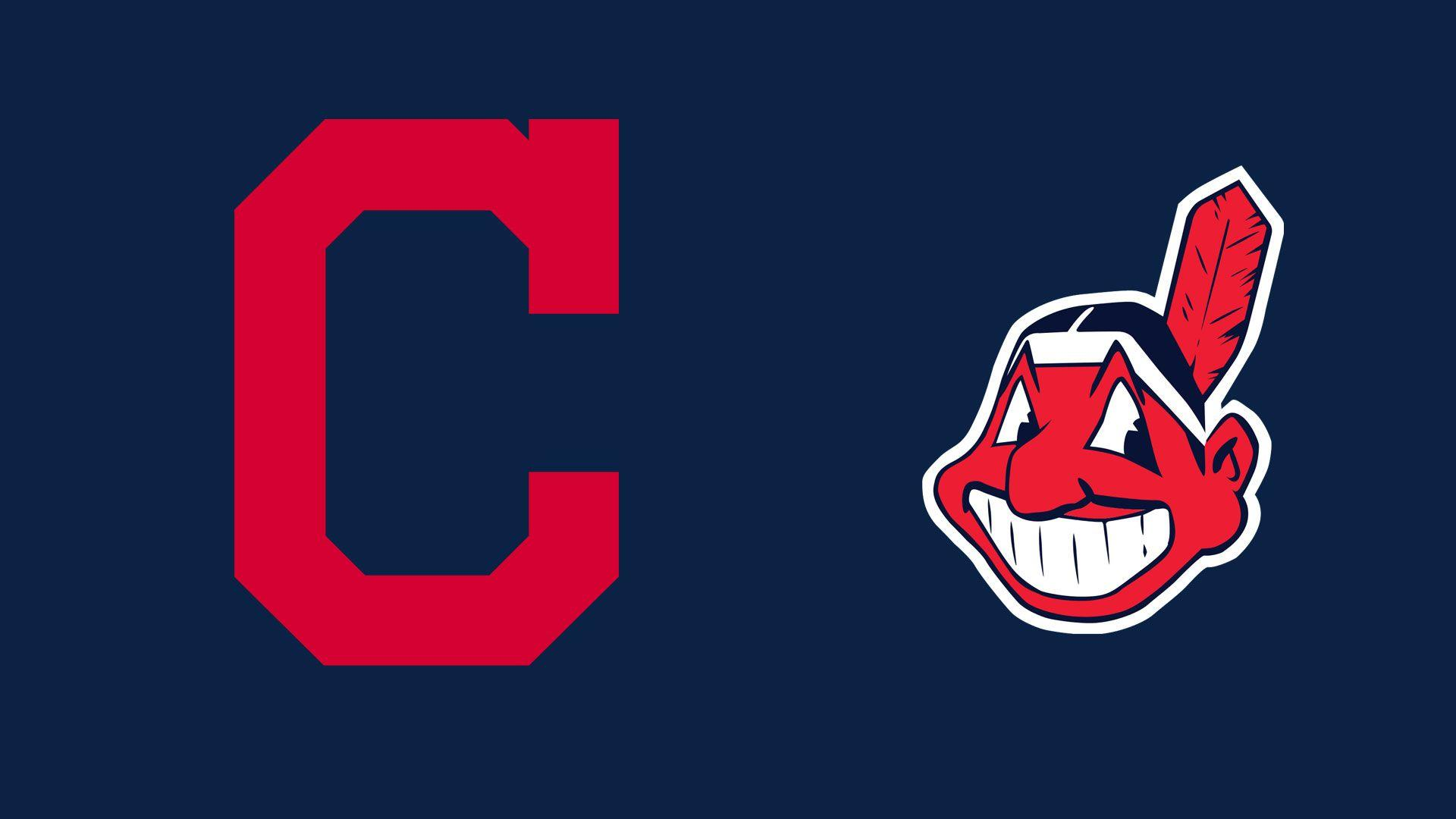 MLB Cleveland Indians Logo - 1920x1080 - Full HD 16/9 - Wallpaper ...