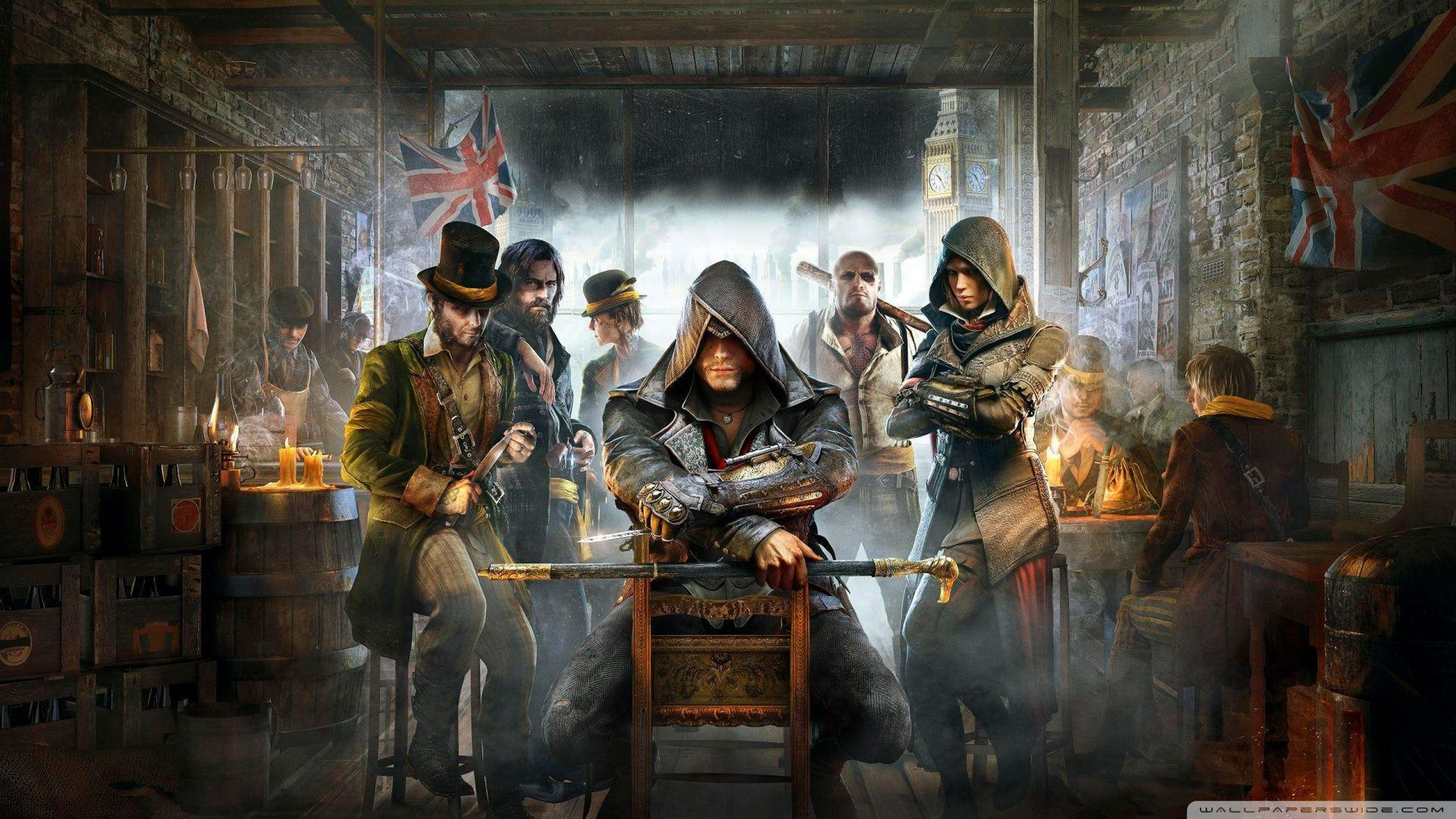ultra hd assassins creed unity wallpaper 4k