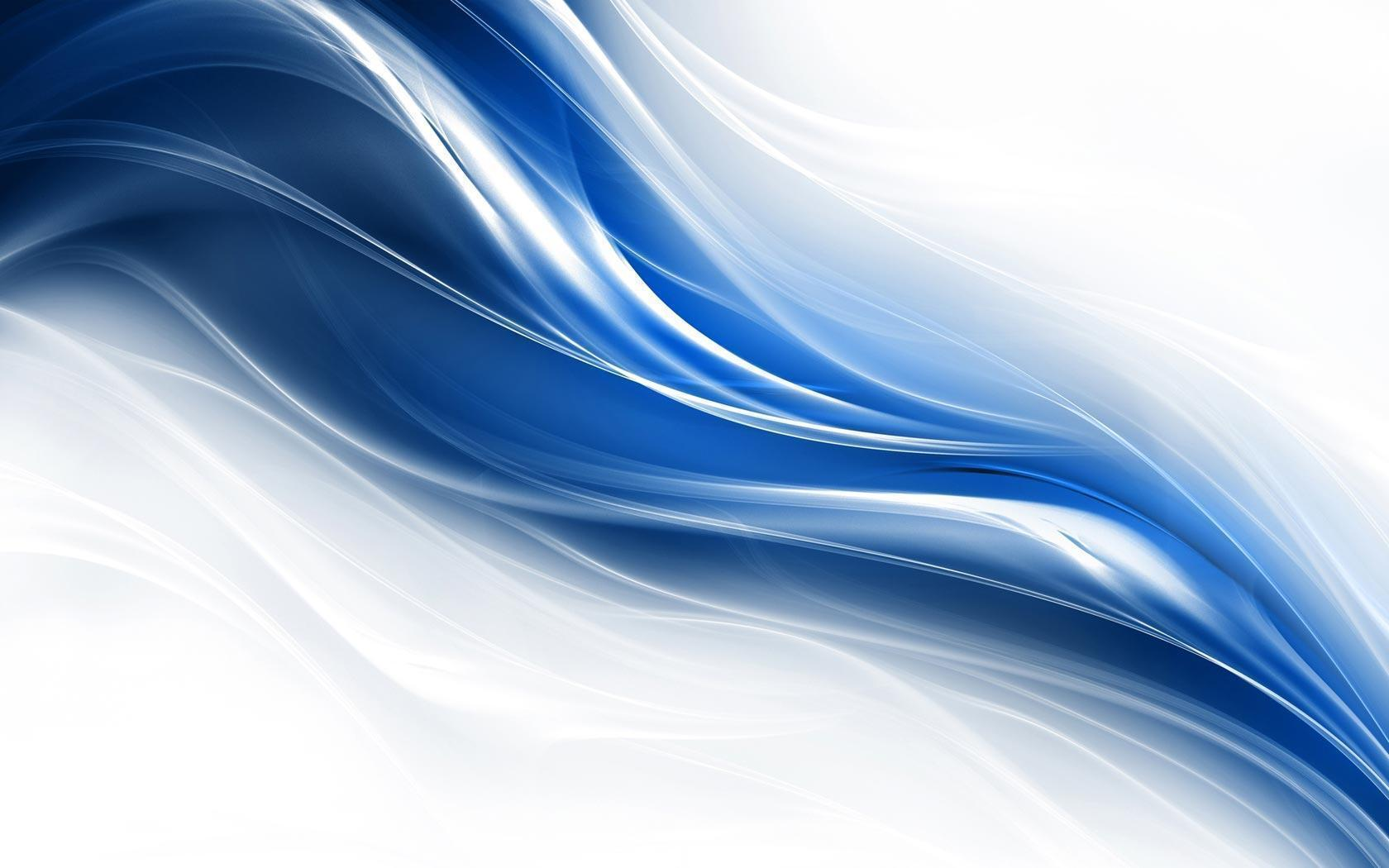 Blue and White HD Wallpaper