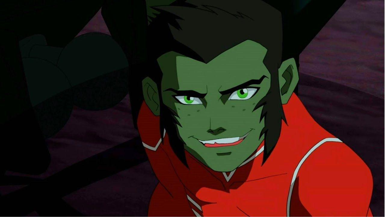 Young Justice Beast Boy Transformations