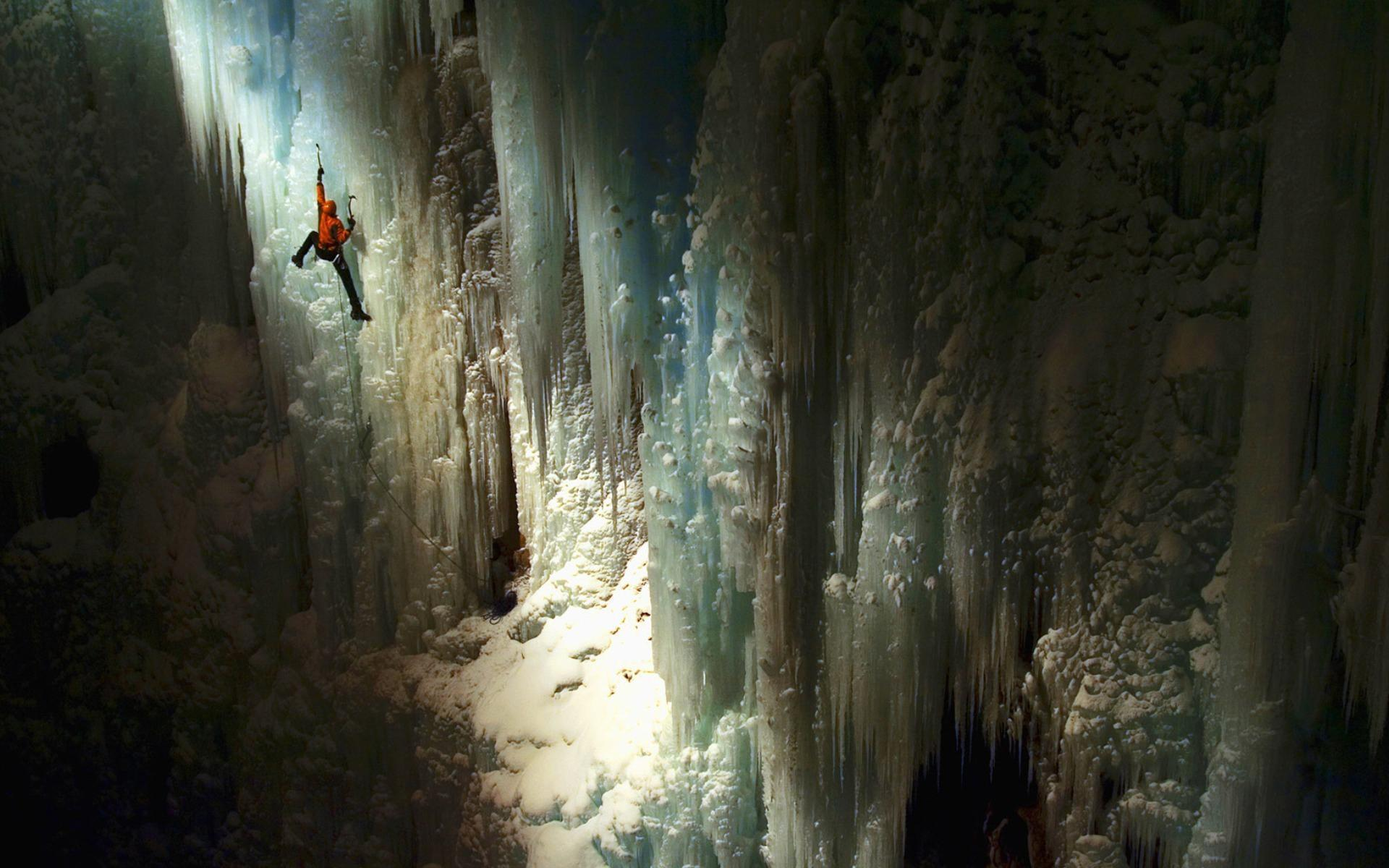 Ice Climbing Wallpapers HD Download