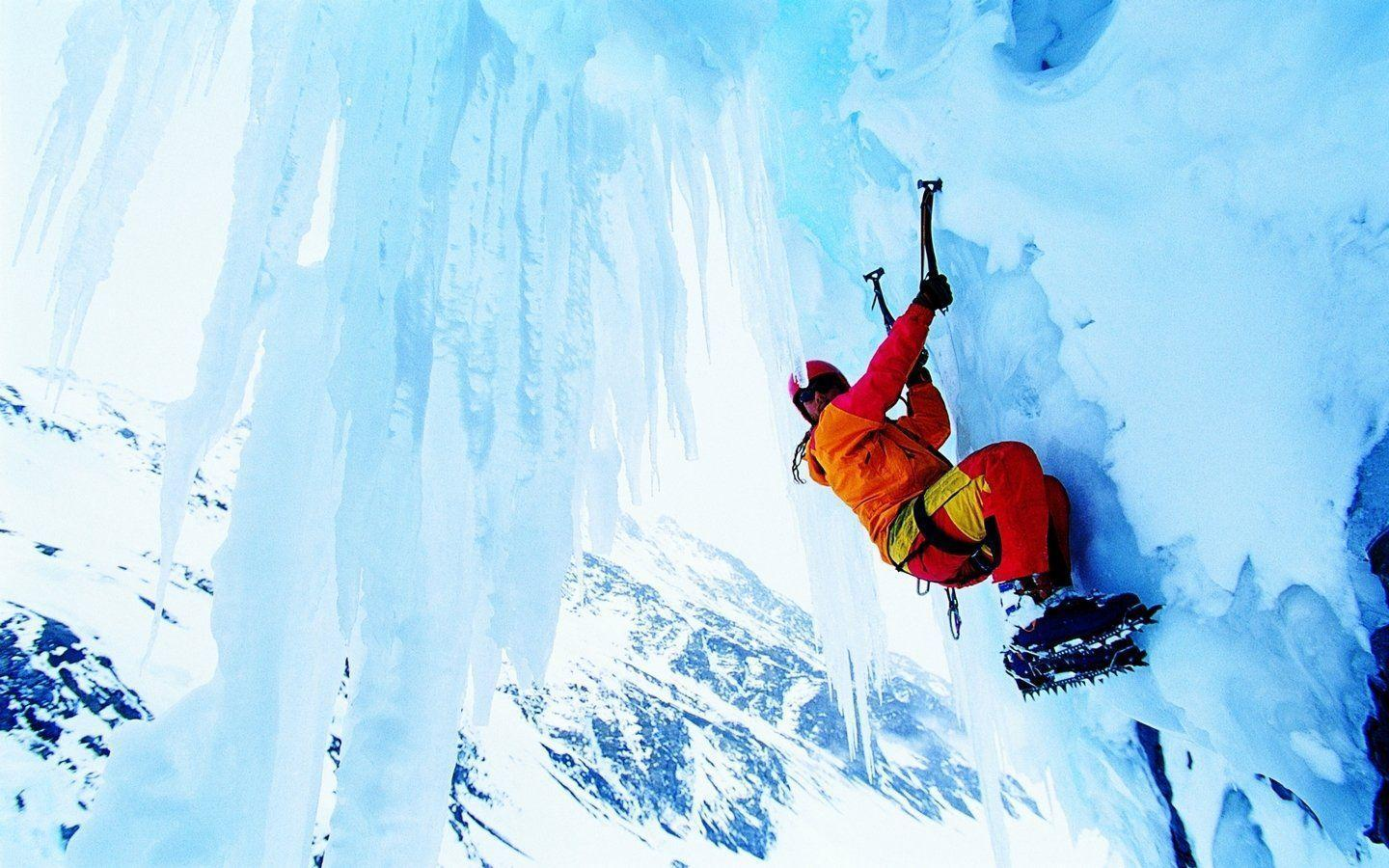 6 Ice Climbing HD Wallpapers