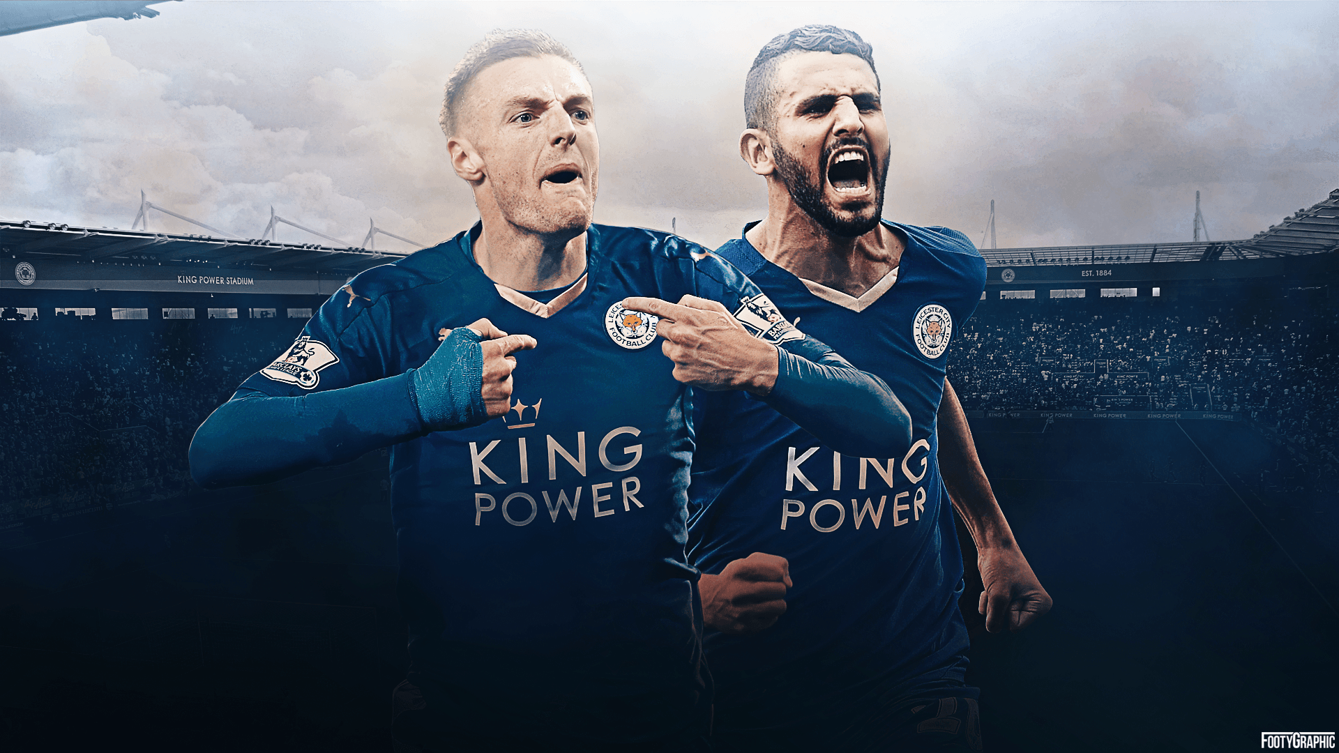Leicester City wallpaper - FootyGraphic
