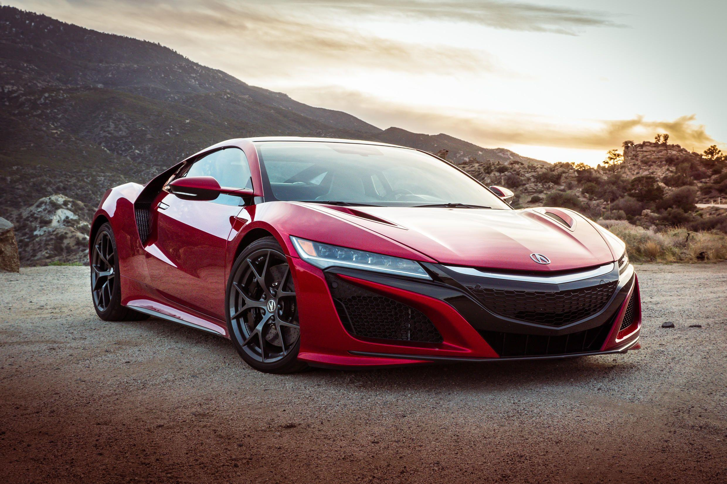 2017 Acura NSX | Cars HD 4k Wallpapers