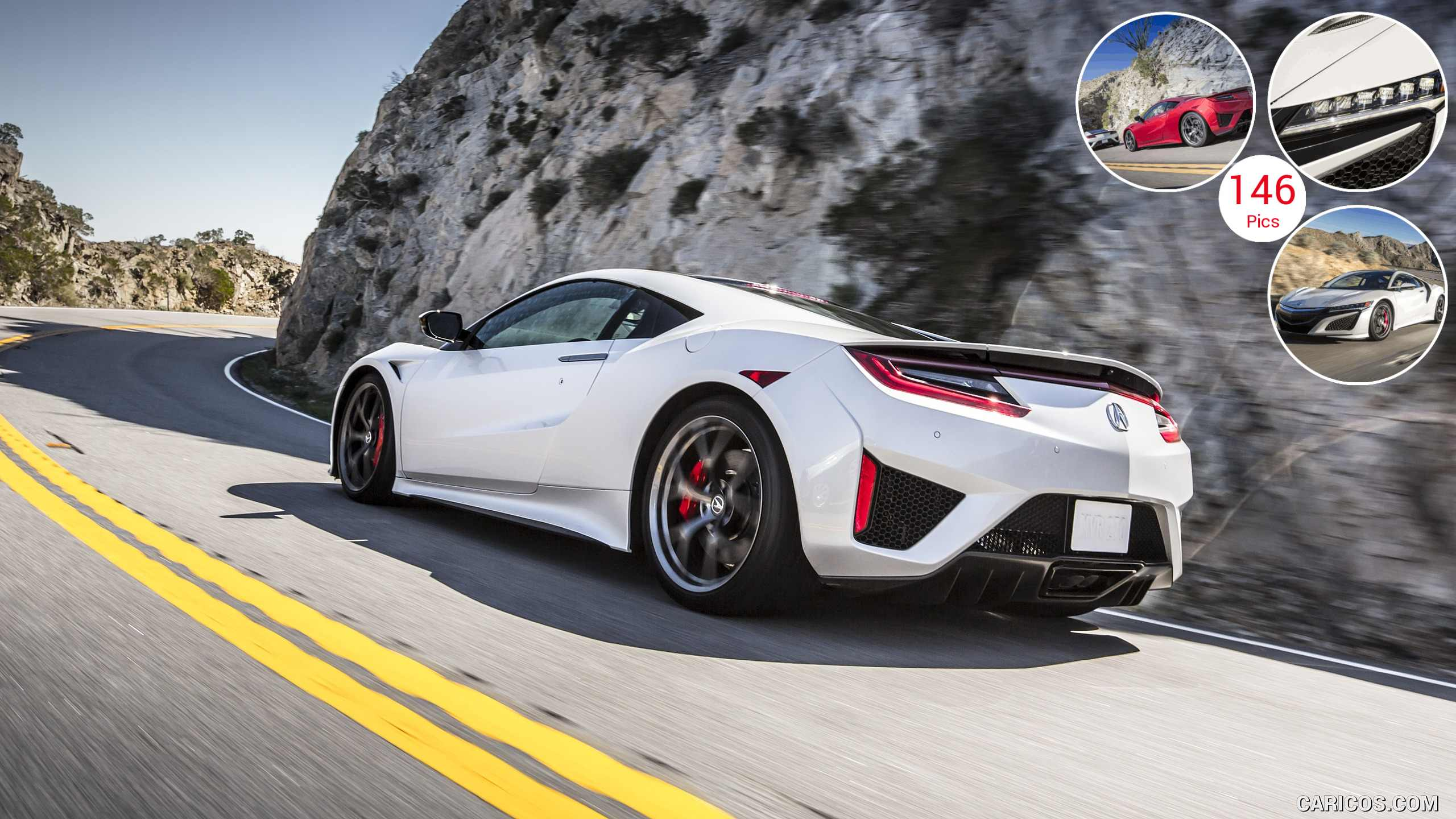 2017 Acura NSX White - Rear | HD Wallpaper #2