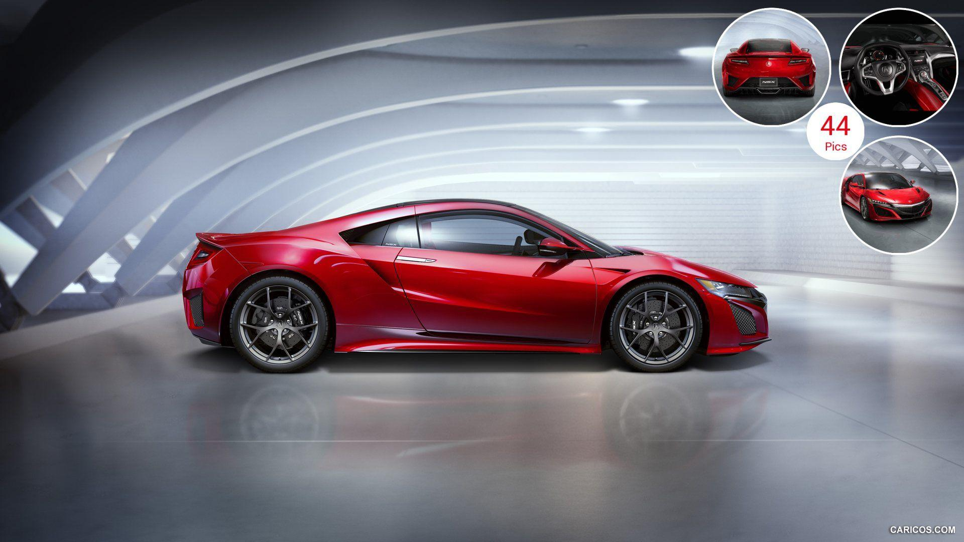 2016 Acura NSX - Side | HD Wallpaper #4