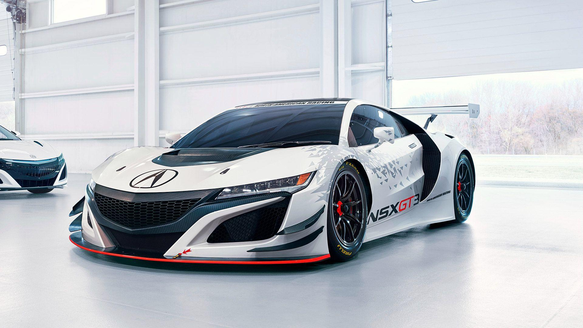 2017 Acura NSX GT3 Wallpapers & HD Image
