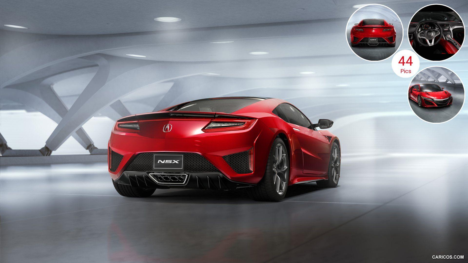 2016 Acura NSX - Rear | HD Wallpaper #2