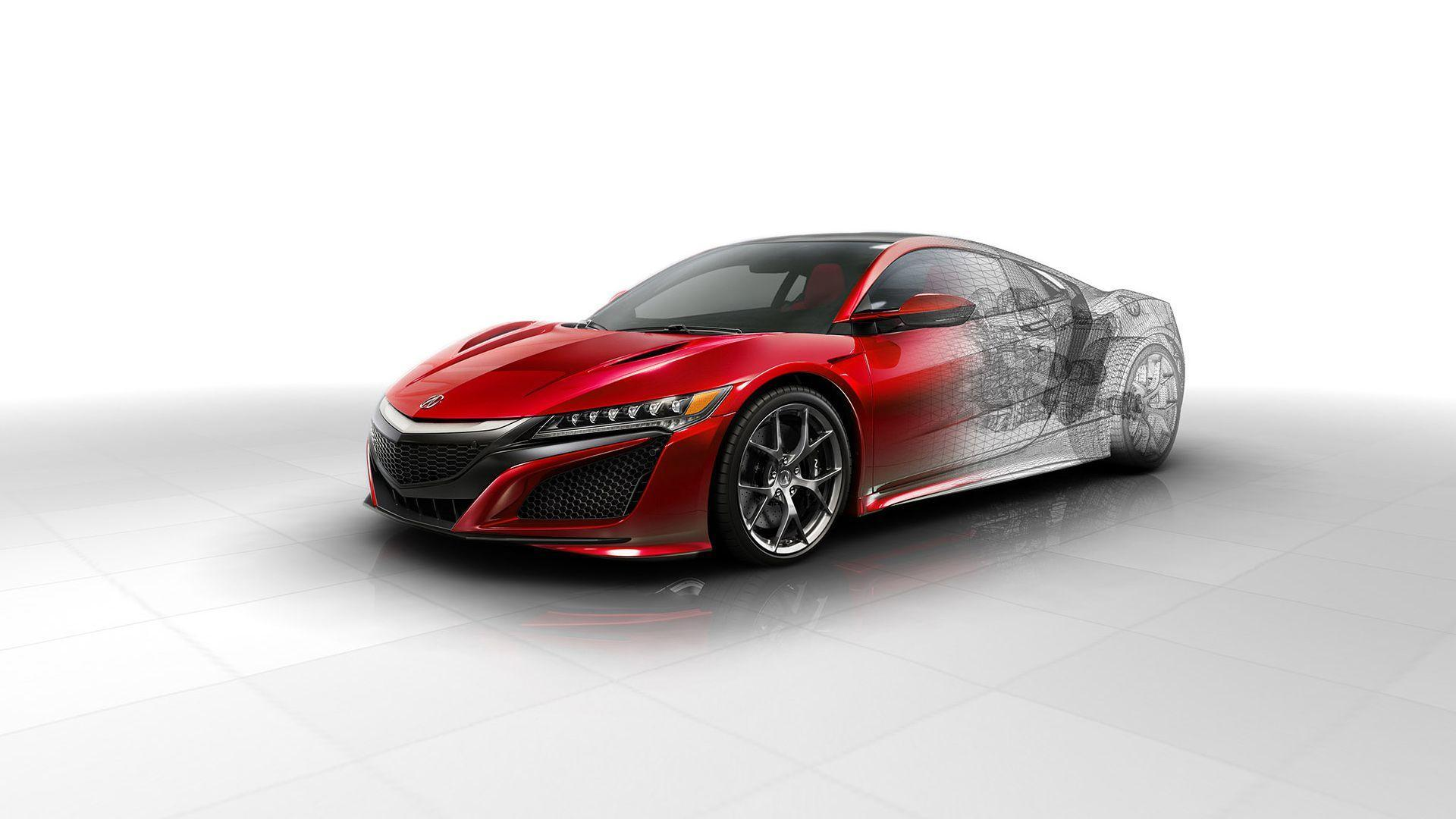 2016 Acura NSX Technical Wallpapers