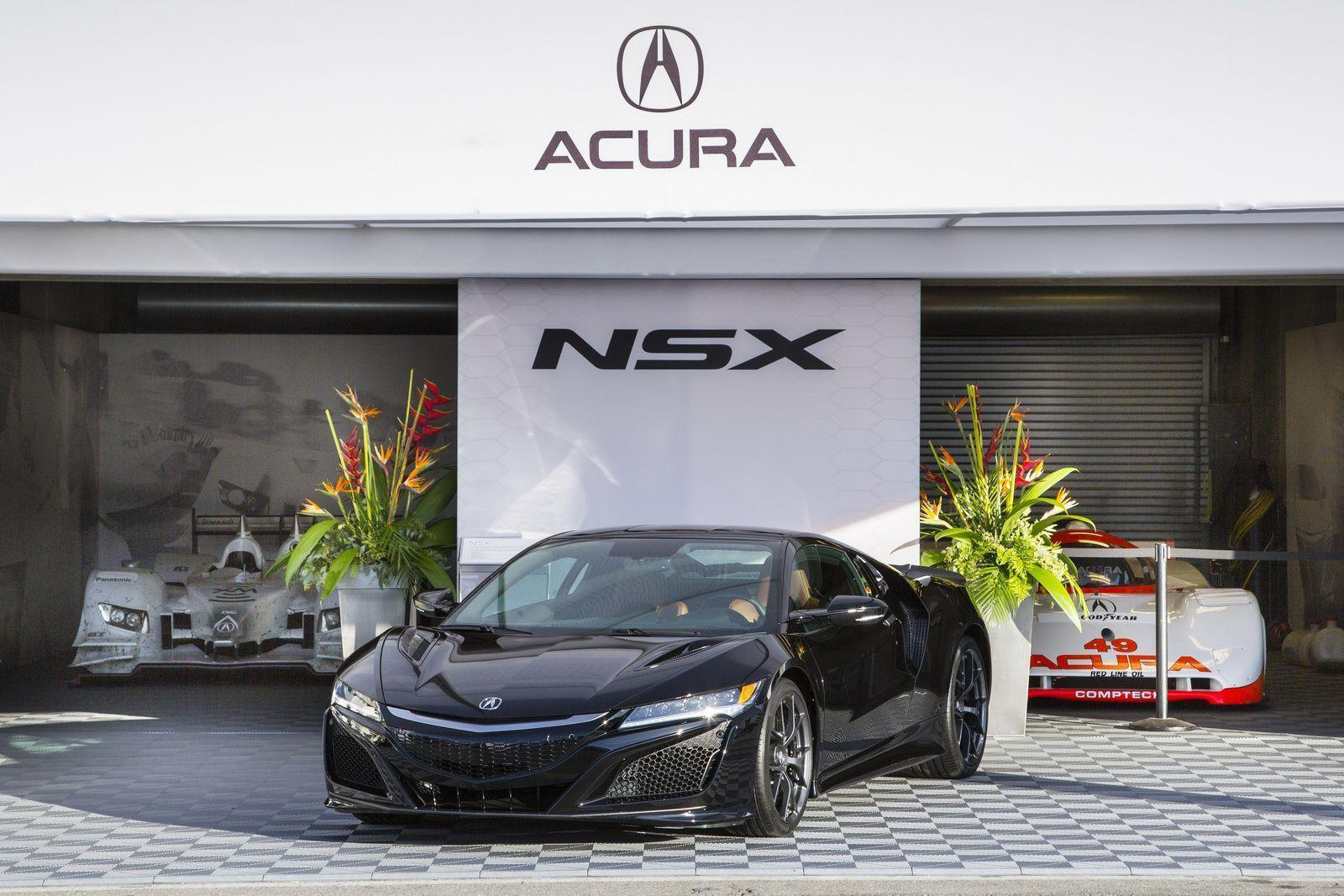 2017 Acura NSX Type R wallpapers