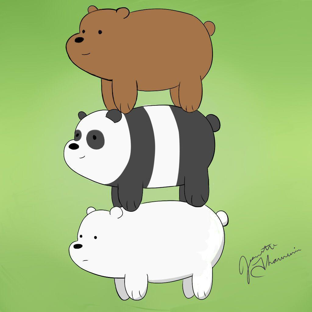 We Bare Bears by invaderzims on DeviantArt