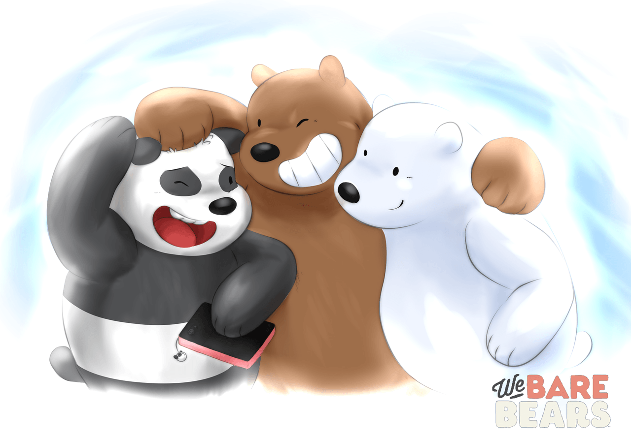 Gambar Kartun We Bare Bears