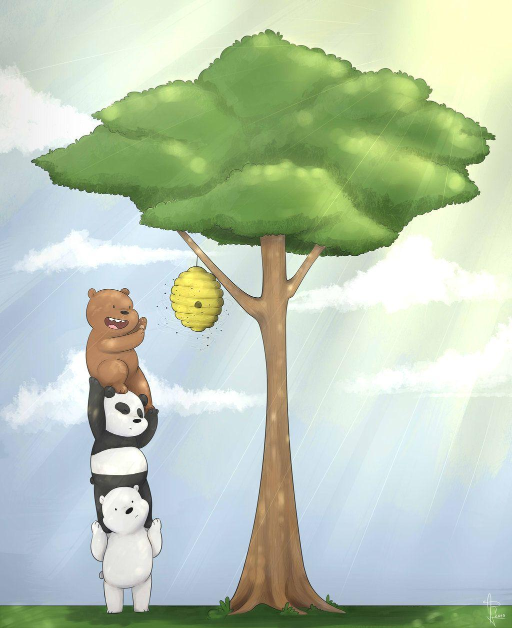 We Bare Bears Honey by Ivy-Ros360 on DeviantArt